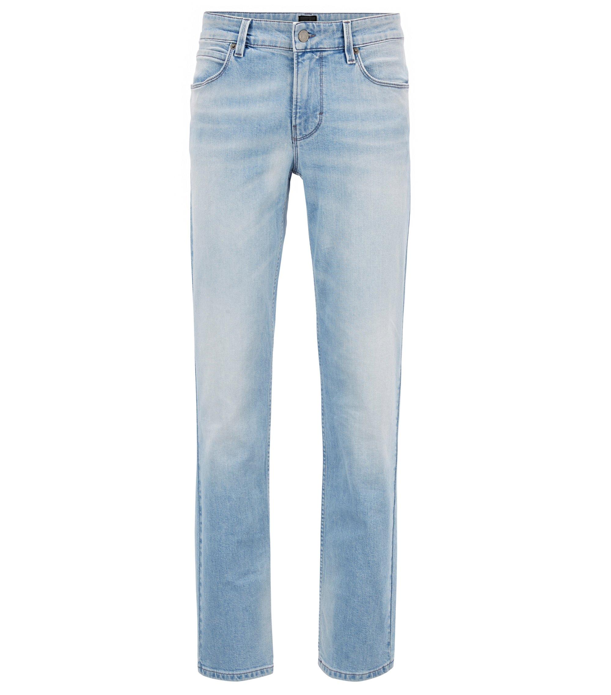 Slim-fit jeans van super-stretchdenim, Lichtblauw