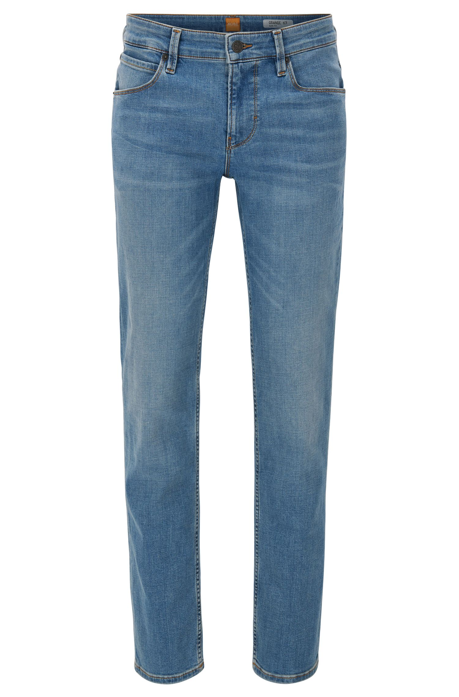 Slim-fit jeans van 3x1 denim twill