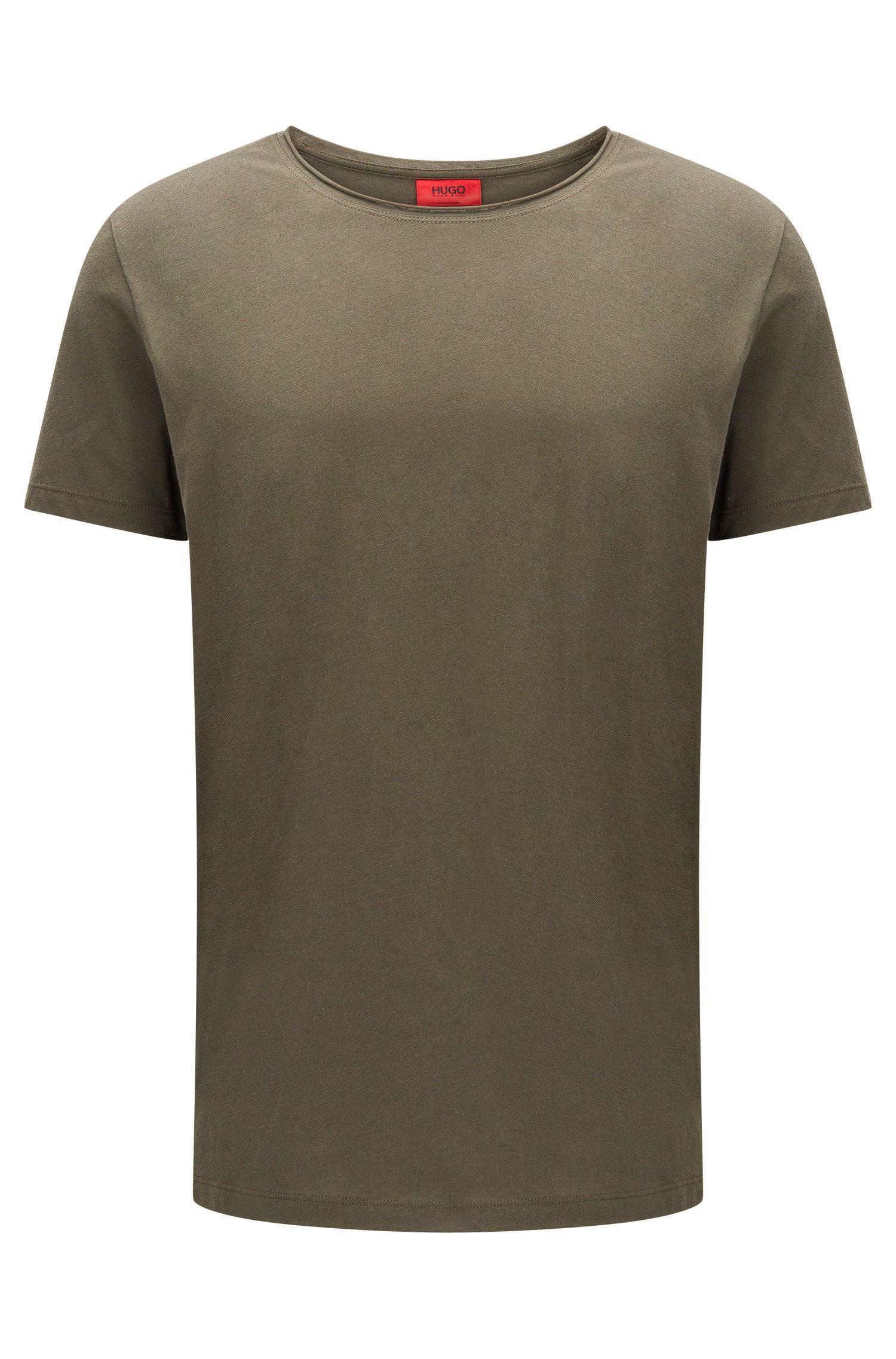 T-shirt Relaxed Fit à col ras-du-cou en coton Supima