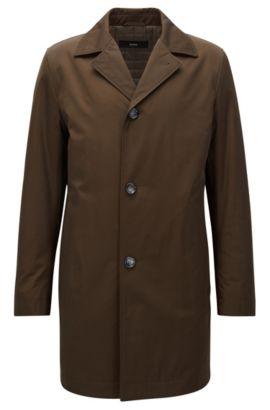 Cappotto con imbottitura leggera in tessuto di medio peso, Calce