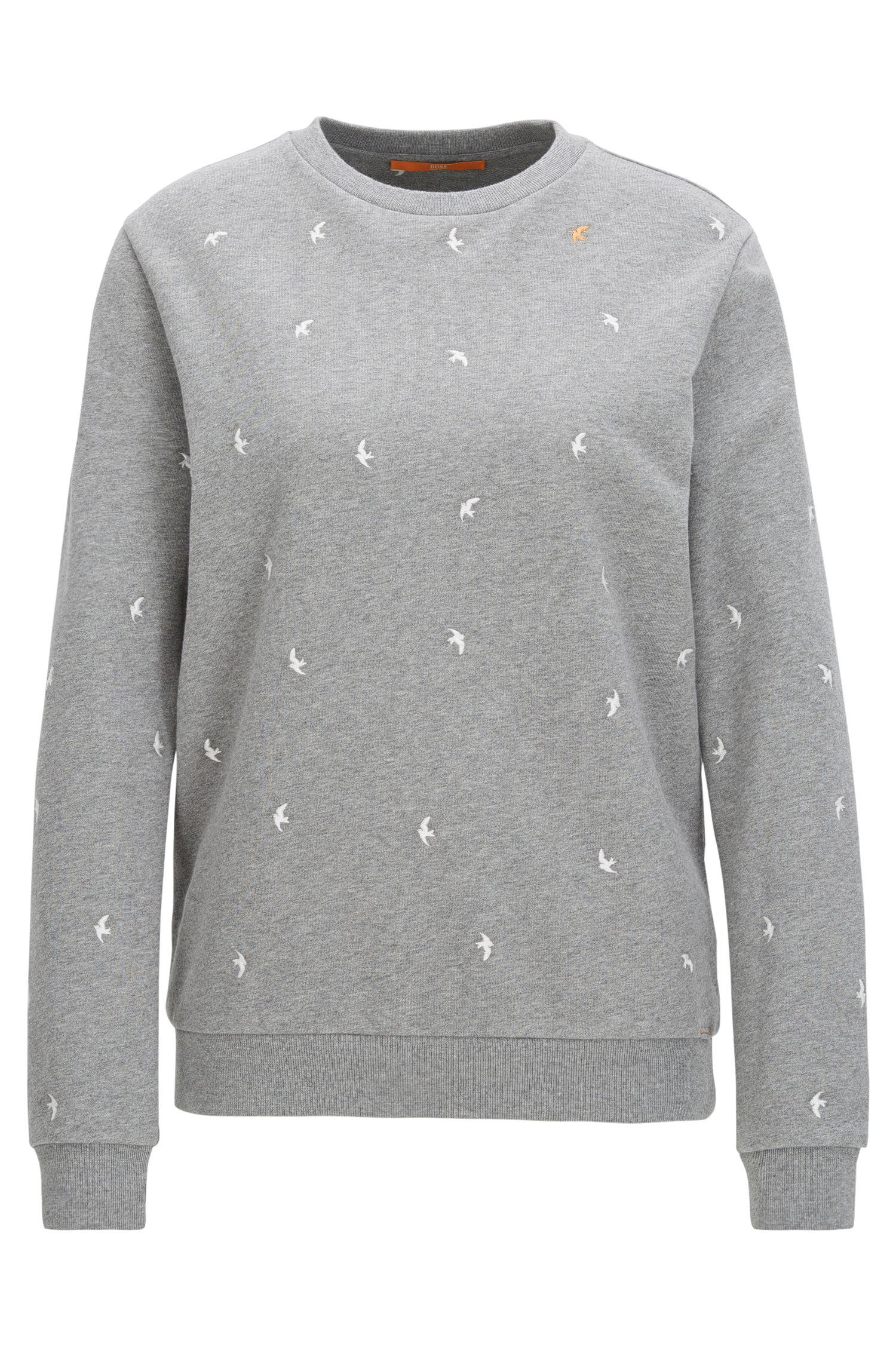 Relaxed-fit sweater in French terry
