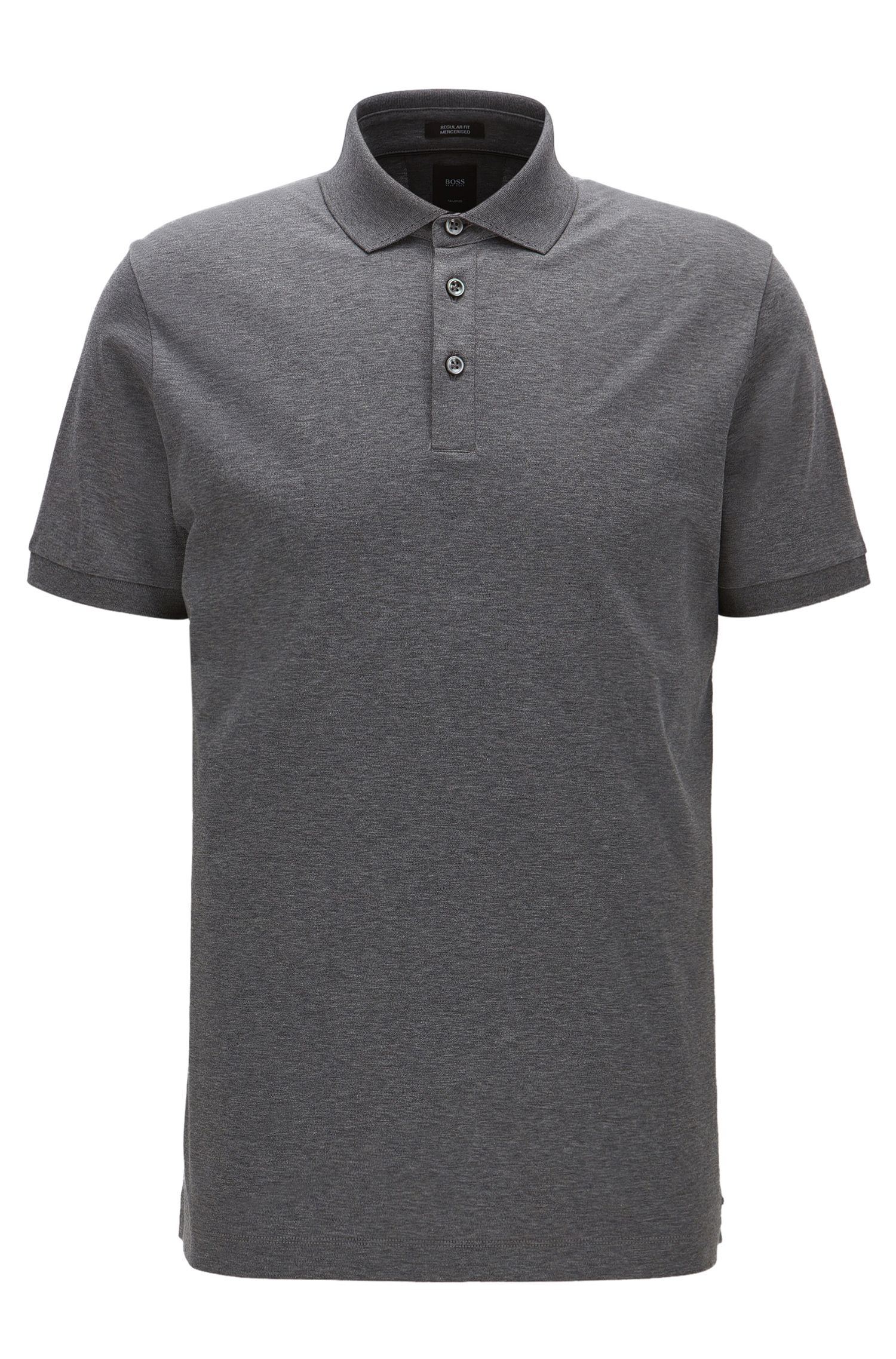 Polo Regular Fit en coton égyptien interlock
