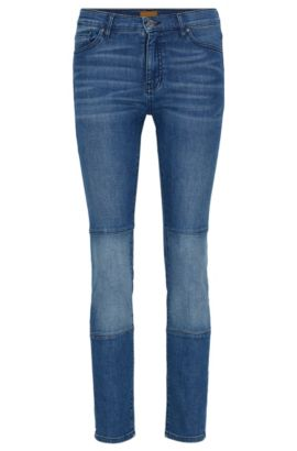 Slim-fit jeans in comfort-stretch denim, Blue