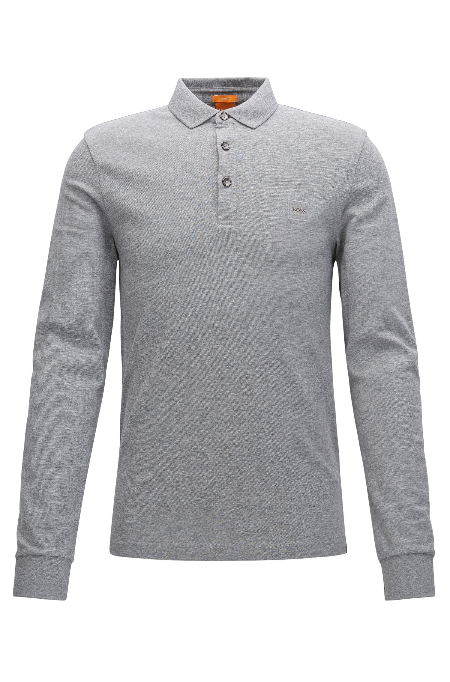 Polo Slim Fit en maille piquée