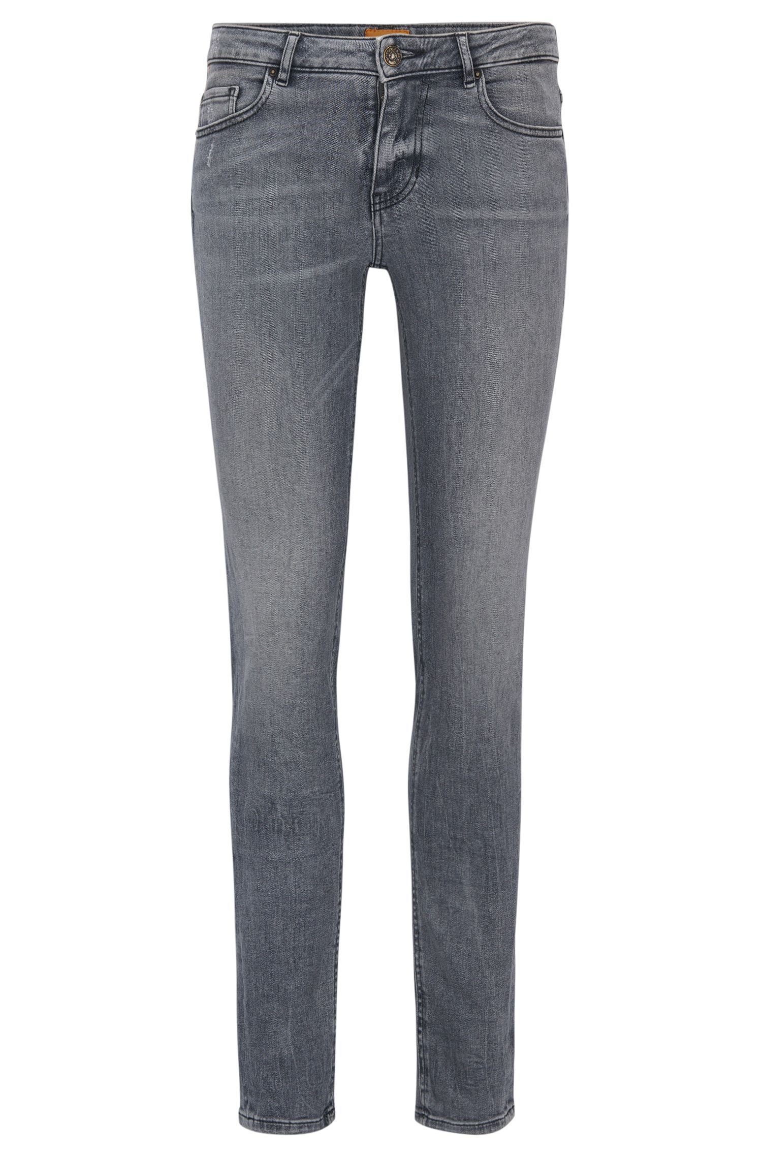 Slim-fit jeans van comfortabel stretchdenim