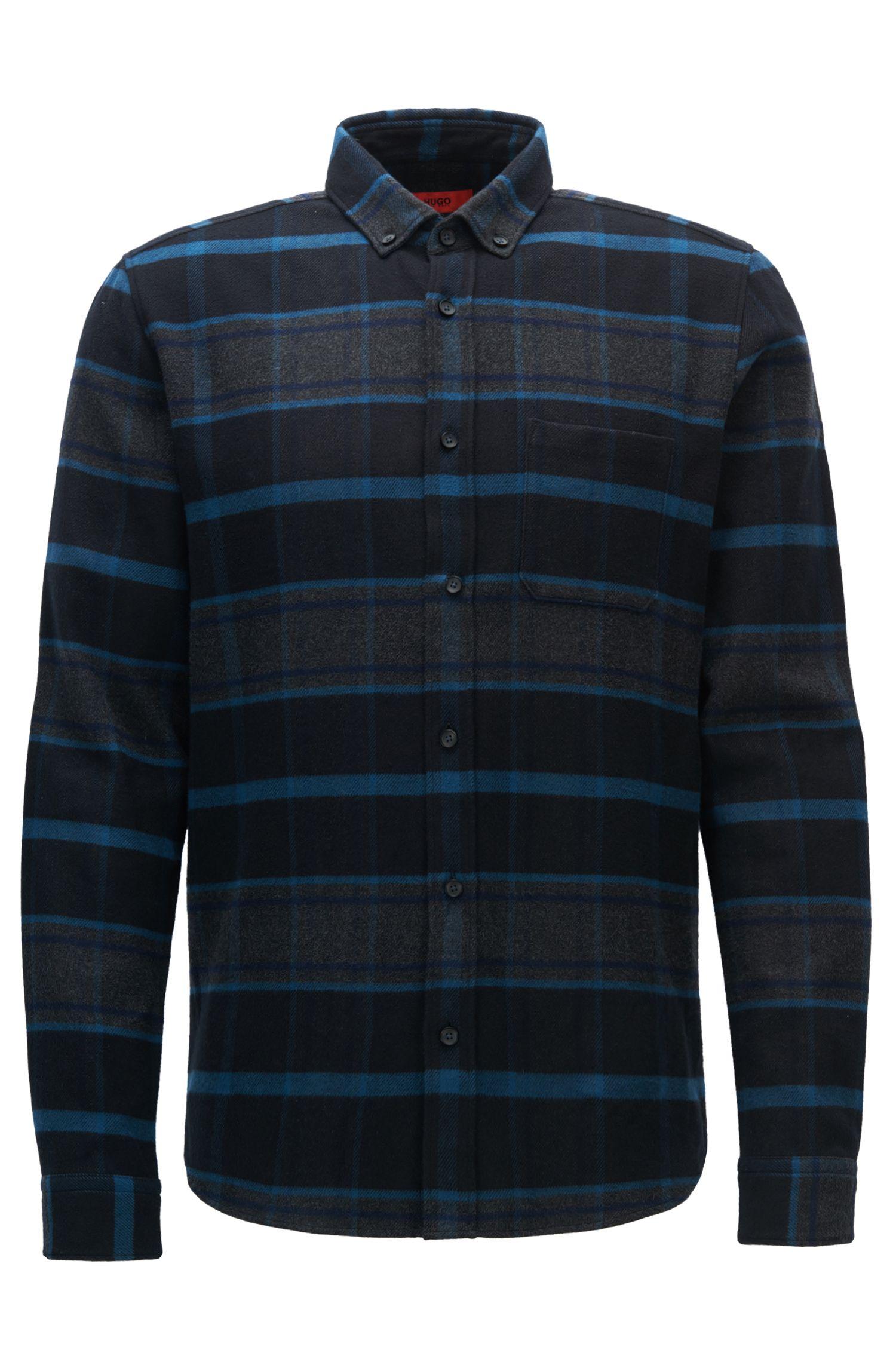 Kariertes Relaxed-Fit Hemd aus Baumwolle