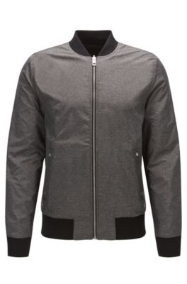 Bomber Relaxed Fit réversible, Anthracite