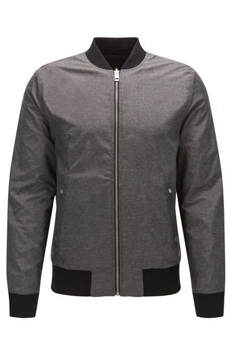 bb19cd392 BOSS - Relaxed-fit reversible bomber jacket