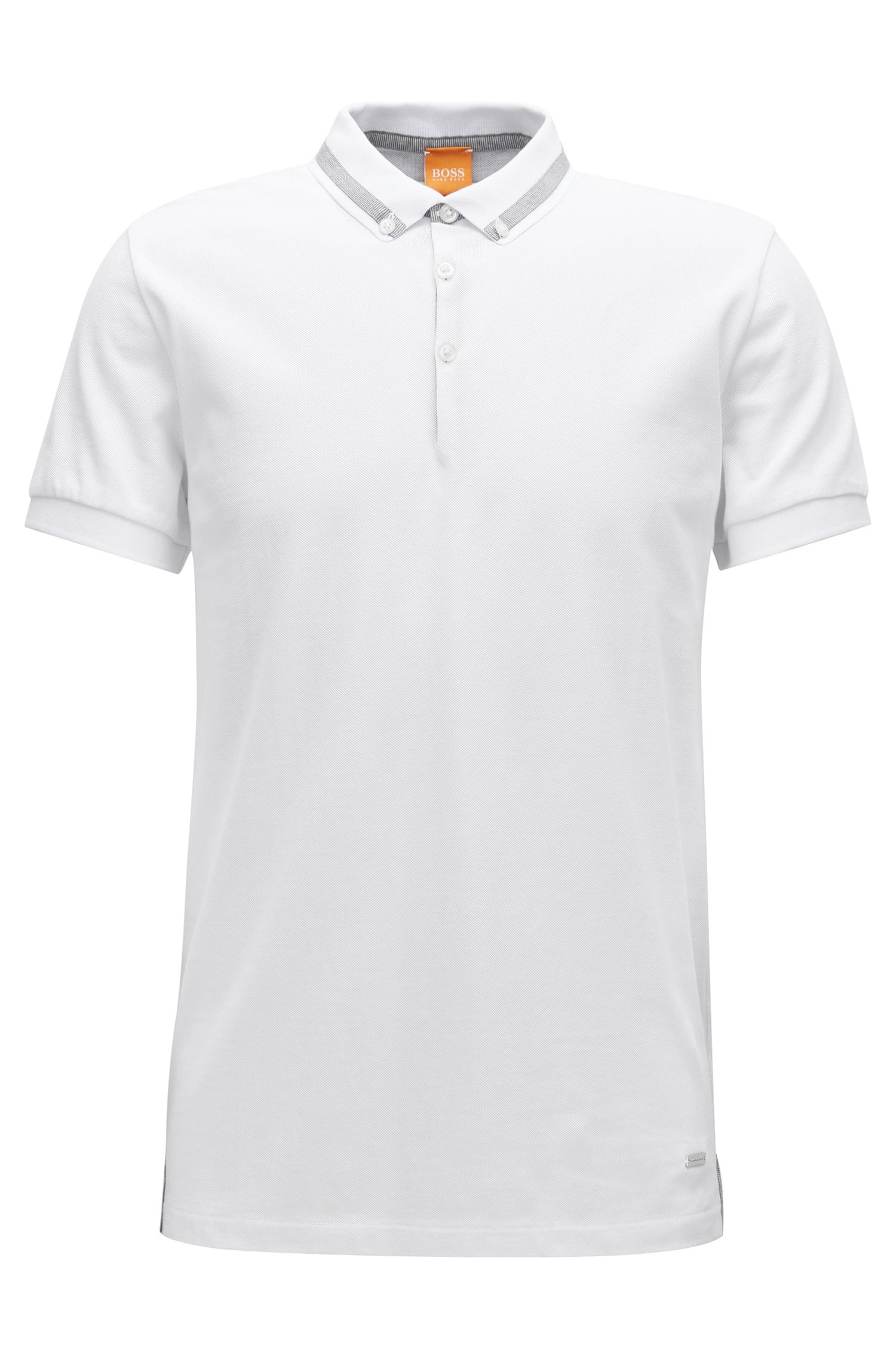 Regular-fit poloshirt in piquékatoen