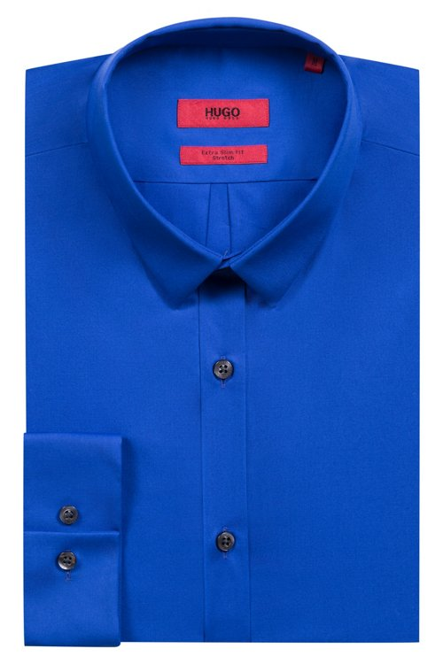 Hugo Boss - Extra-slim-fit shirt in stretch cotton - 5