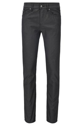 HUGO BOSS Jean Slim Fit teint en pièce en twill de coton stretch eOOzmDwi