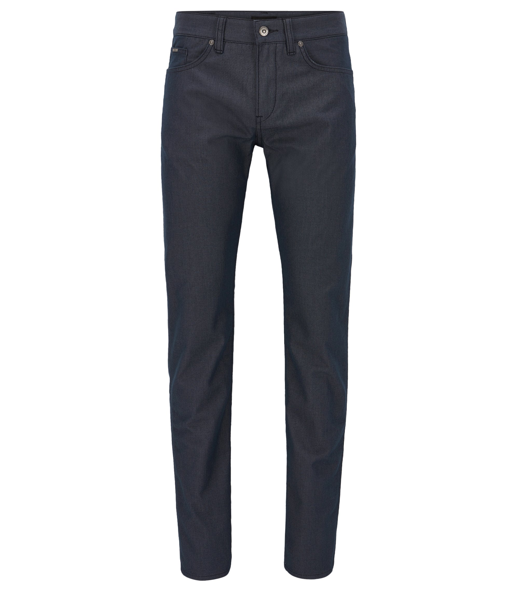 Slim-fit jeans in comfort-stretch denim, Dark Blue