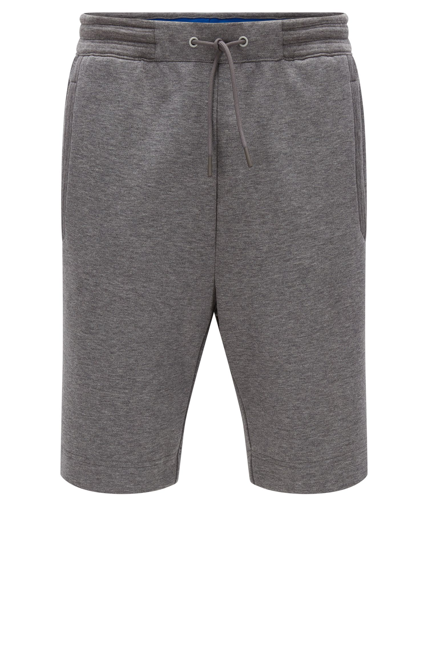 Pantaloncini corti regular fit in misto cotone
