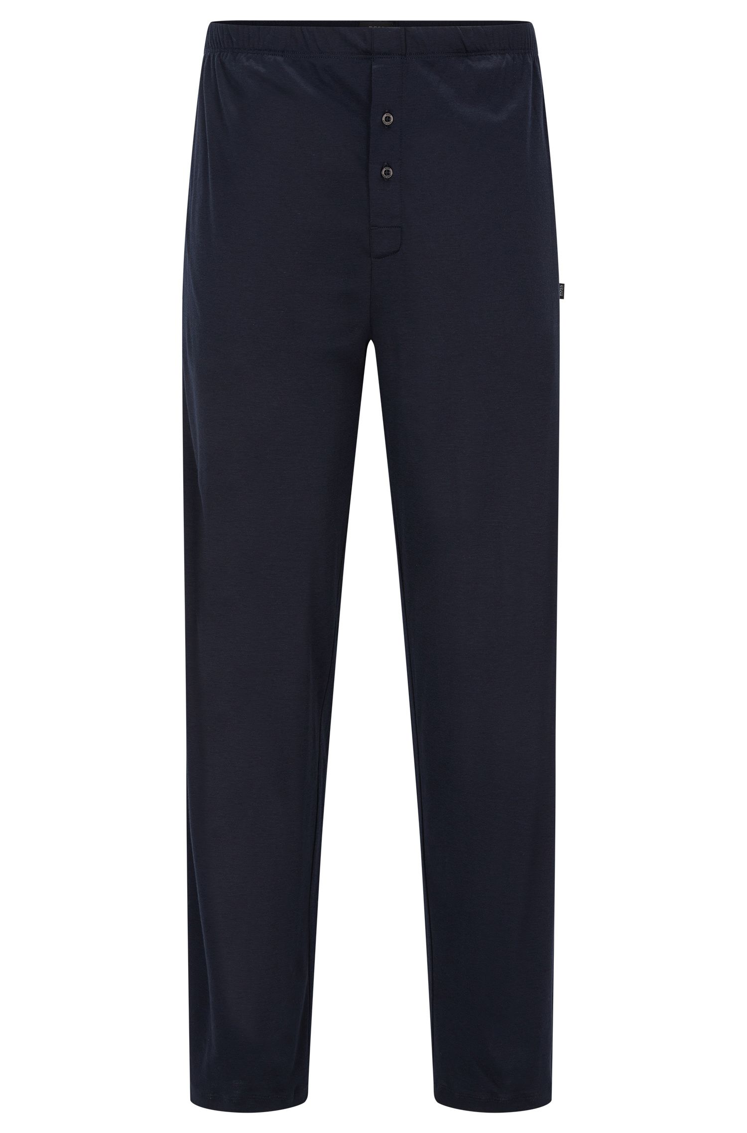 Pyjama bottoms in cotton and modal