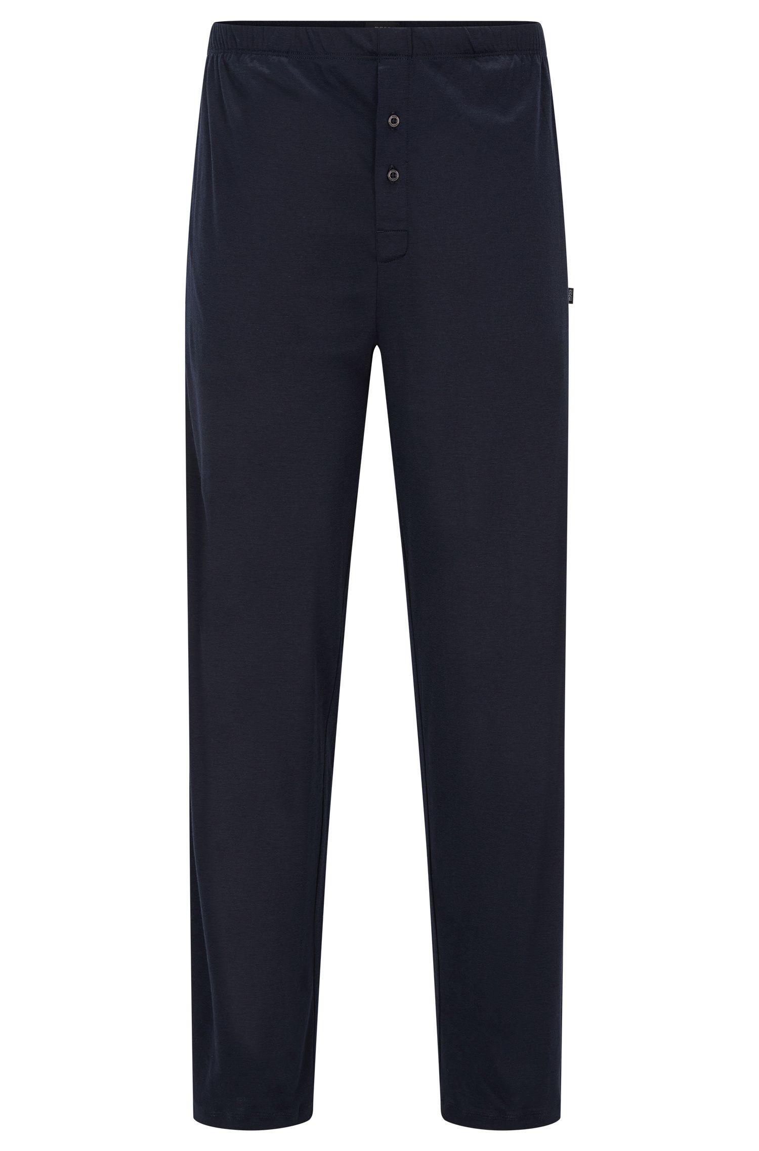 Pantalón de pijama en algodón y modal