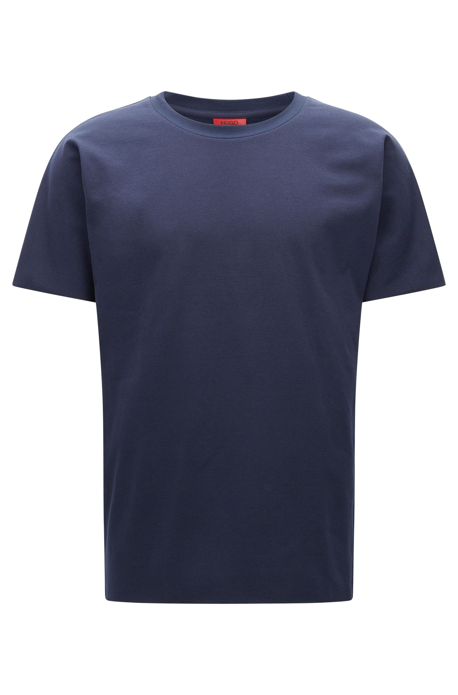 T-shirt Relaxed Fit en twill French terry
