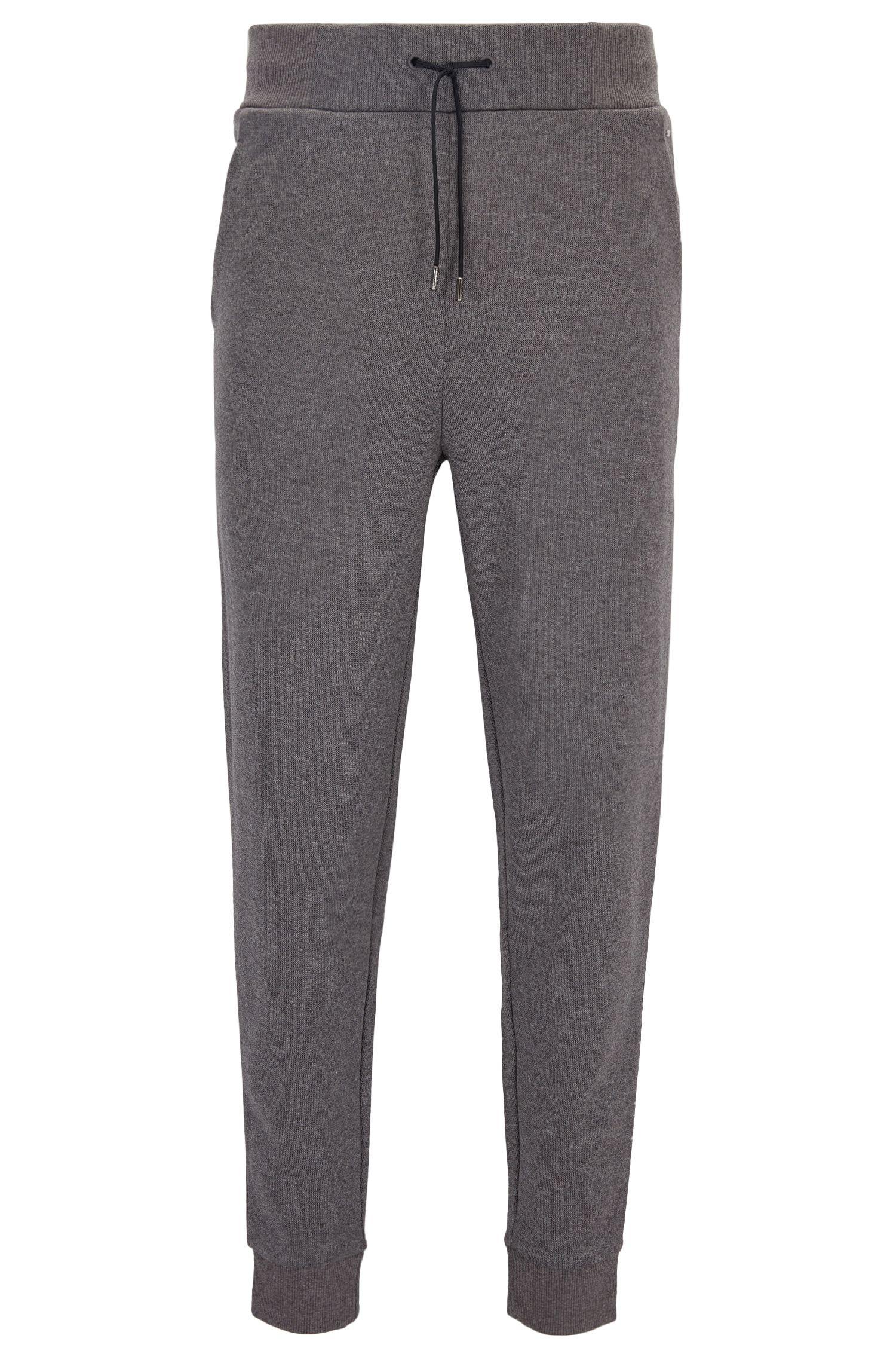 Relaxed-Fit Hose aus geripptem Baumwoll-Jersey