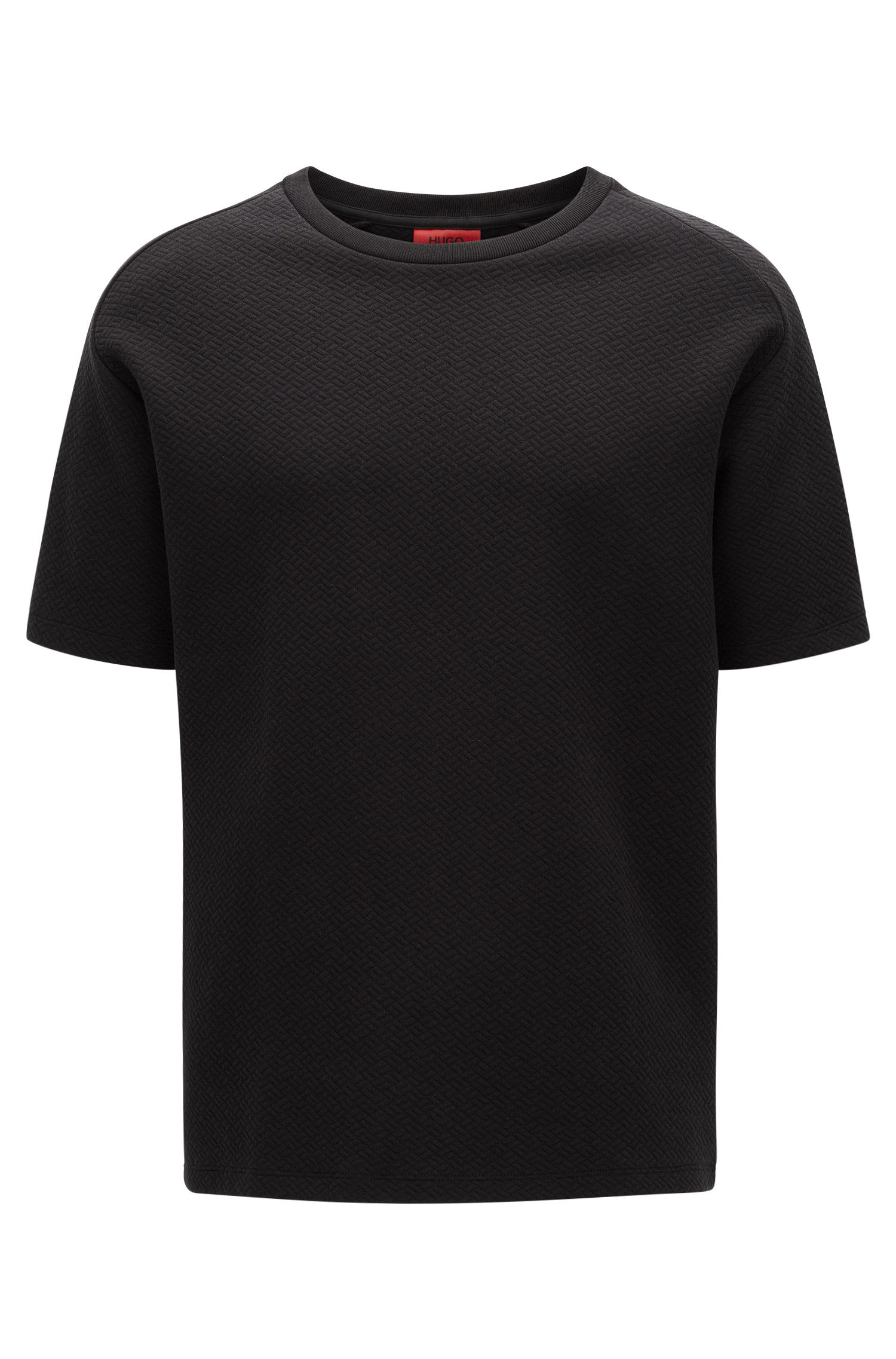 Relaxed-fit heavyweight T-shirt in structured cotton