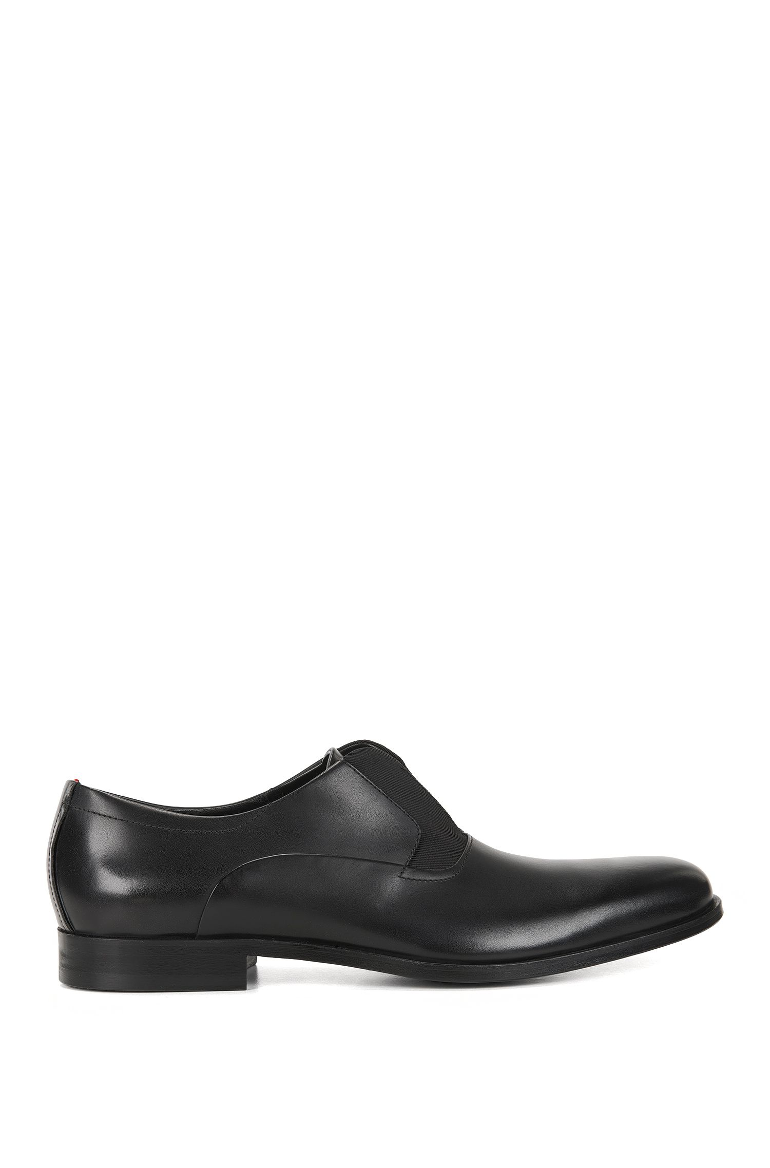 Scarpe Oxford slip-on in pelle