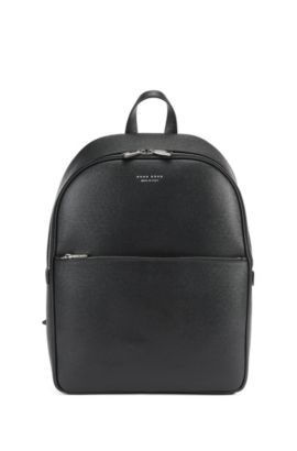 Signature Collection backpack in palmellato leather, Black
