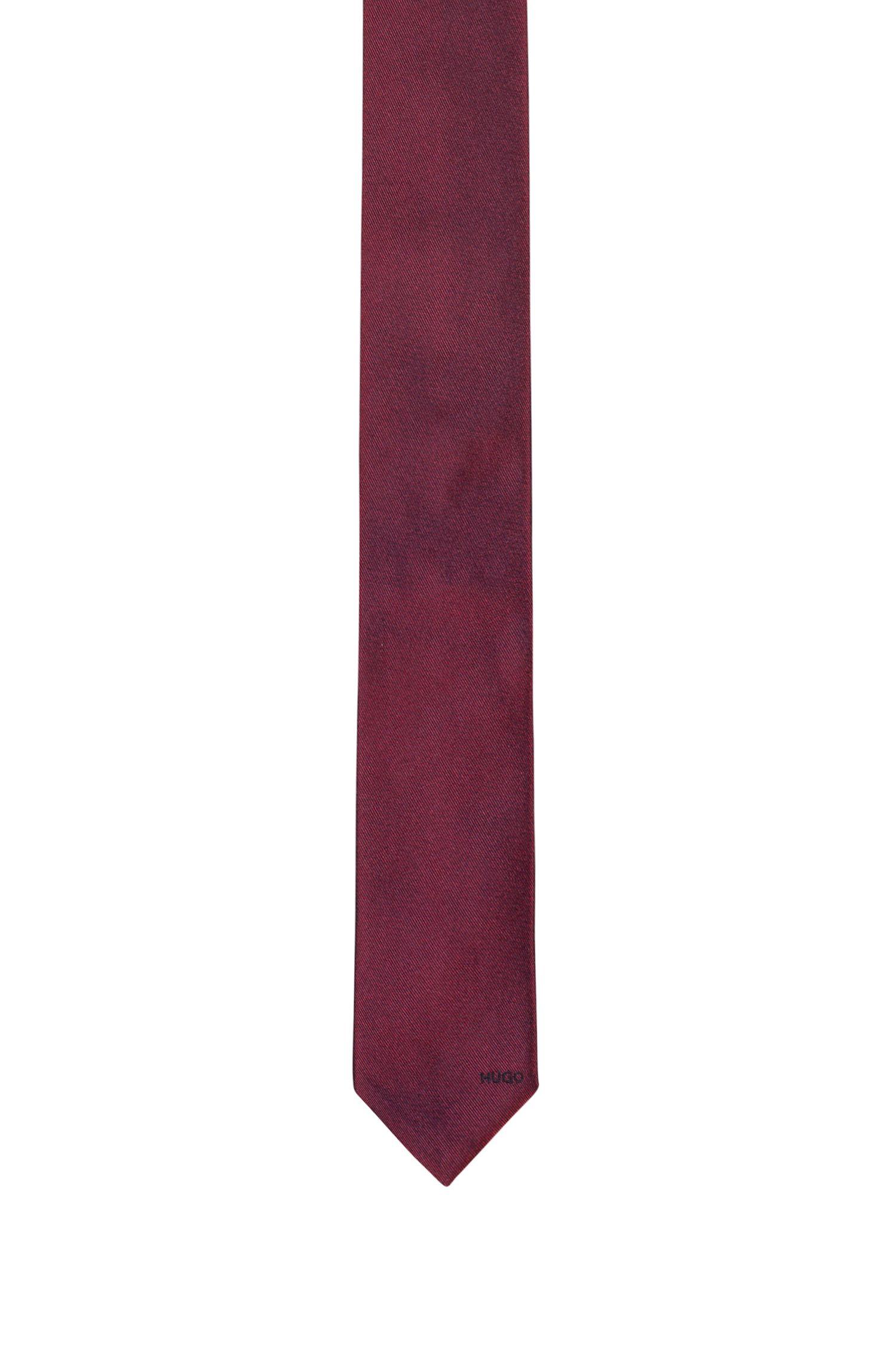 Minimalistische Krawatte aus reinem Seiden-Jacquard