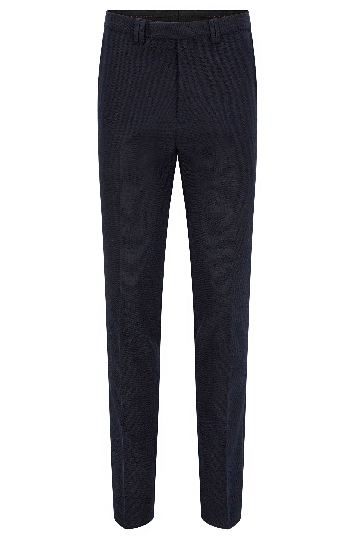 Pantalon Extra Slim Fit en coton stretch gaufré
