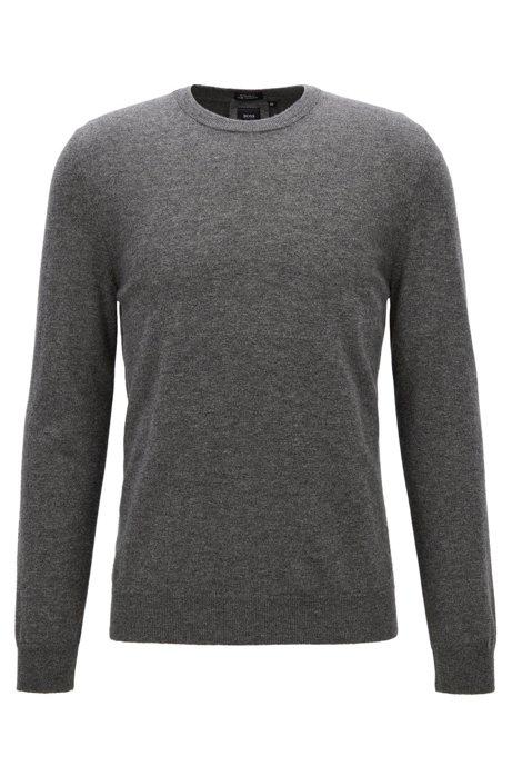 Lightweight sweater in Italian cashmere BOSS Cheap 100% Original 2PjEYK