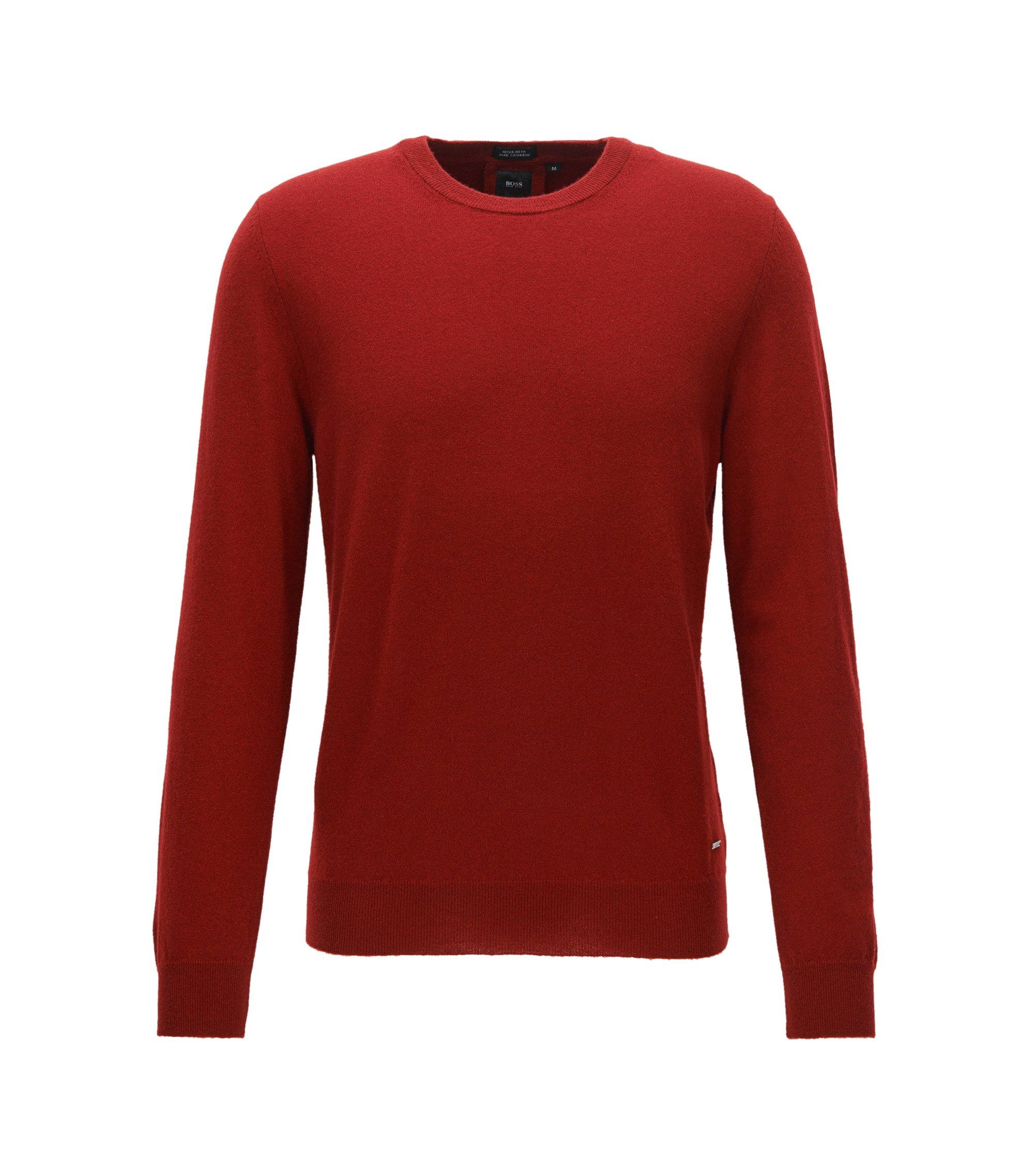 Maglione leggero in cashmere italiano, Rosso