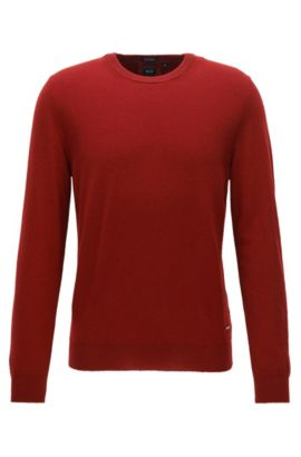 Lightweight sweater in Italian cashmere, Red