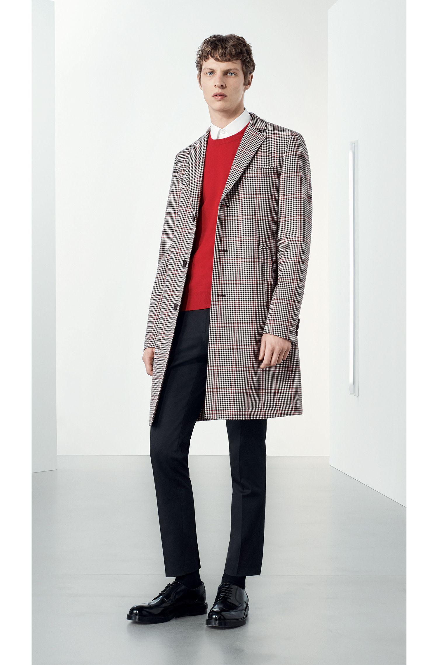 Leichter Regular-Fit Pullover aus italienischem Kaschmir