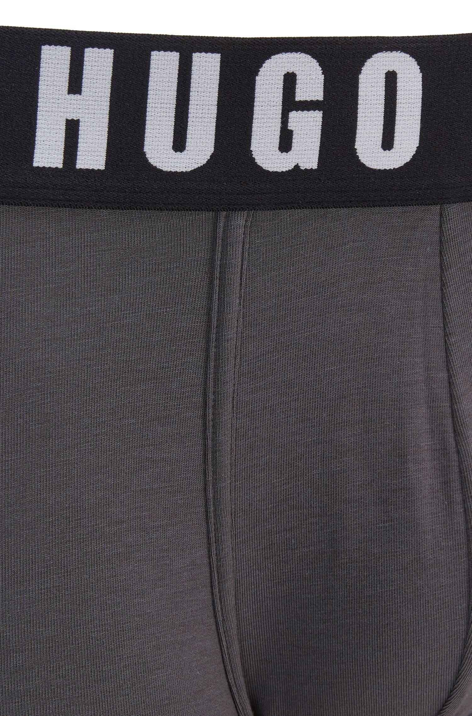 Boxer long Regular Rise en jersey simple