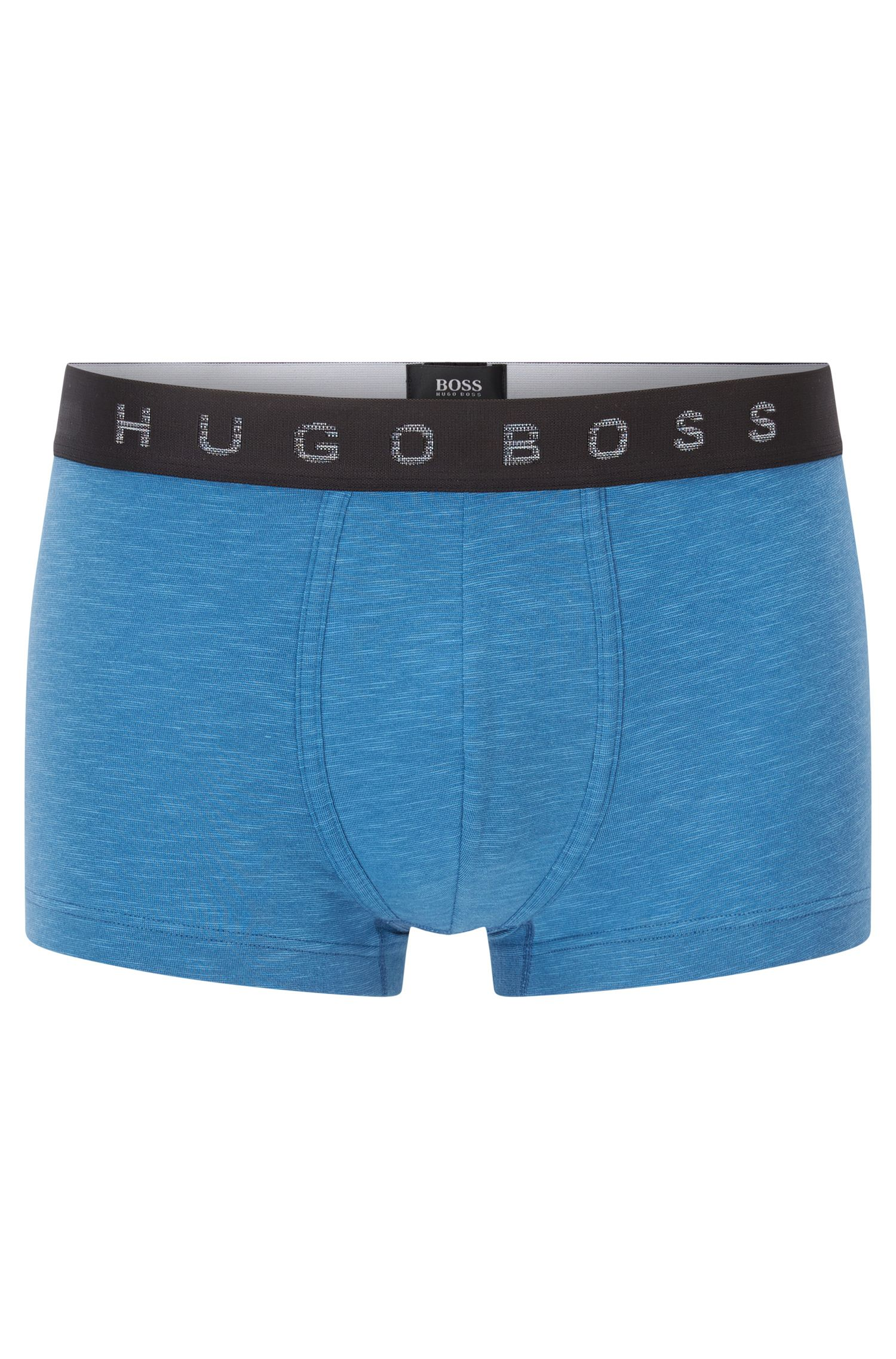 Boxer Regular Fit en jersey de coton stretch