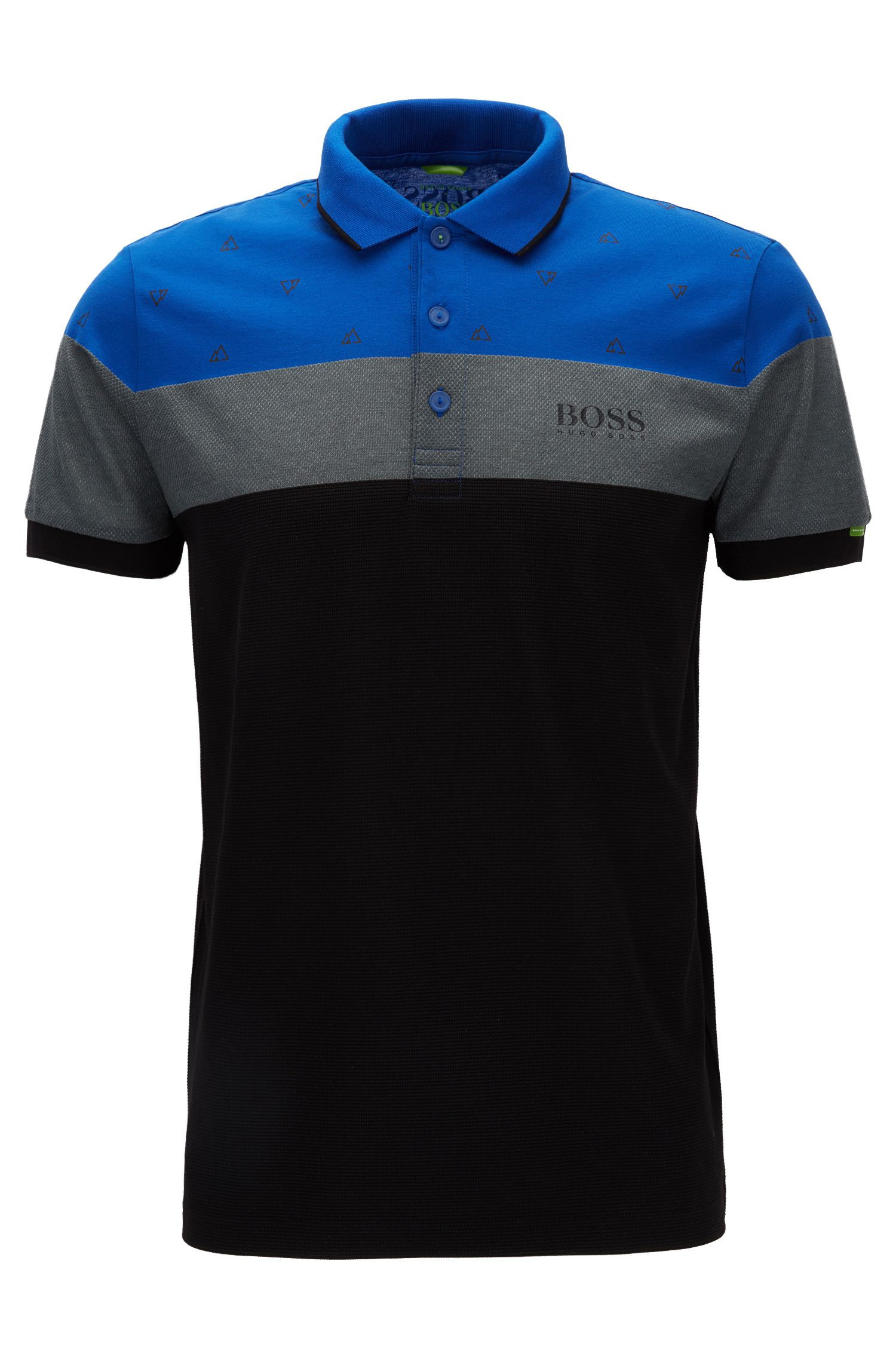 Polo regular fit in misto cotone