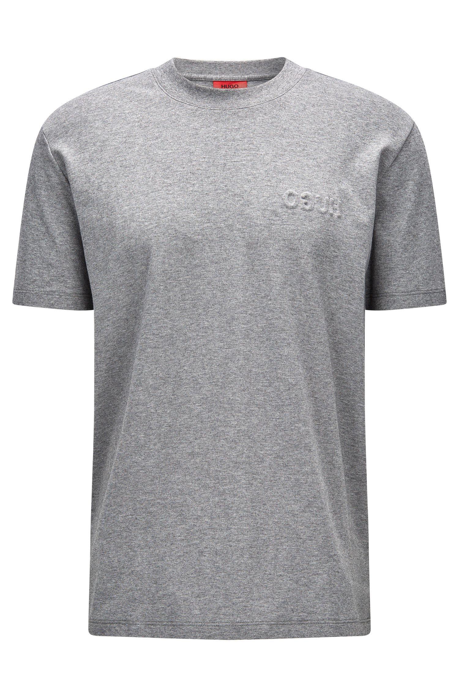 Oversize Shirt aus Pima-Baumwolle