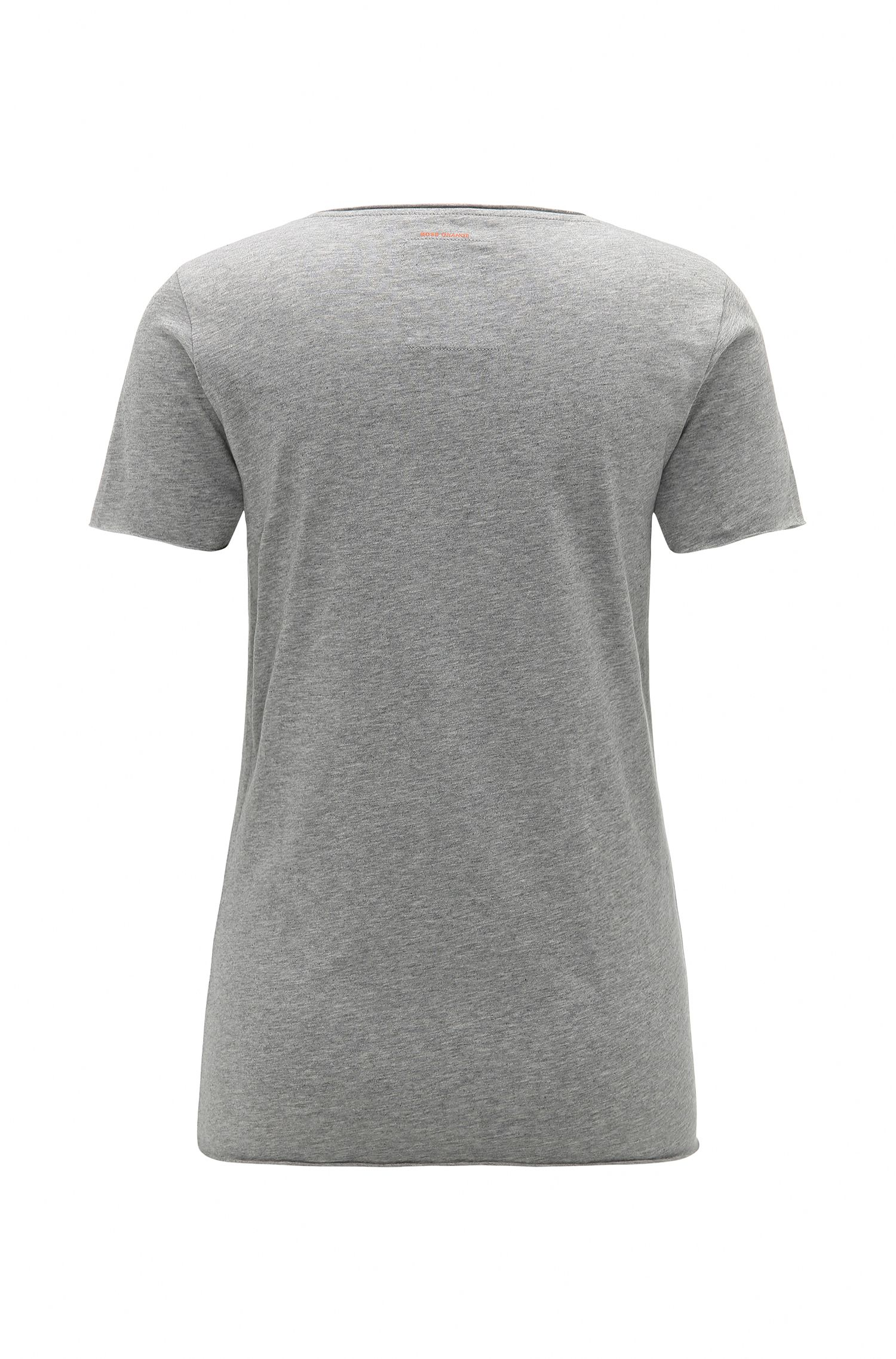Pure cotton print t-shirt: 'Tilogo'