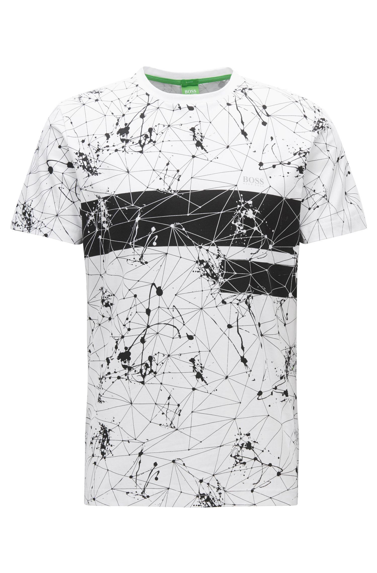 Regular-Fit T-Shirt aus Single-Jersey mit Print