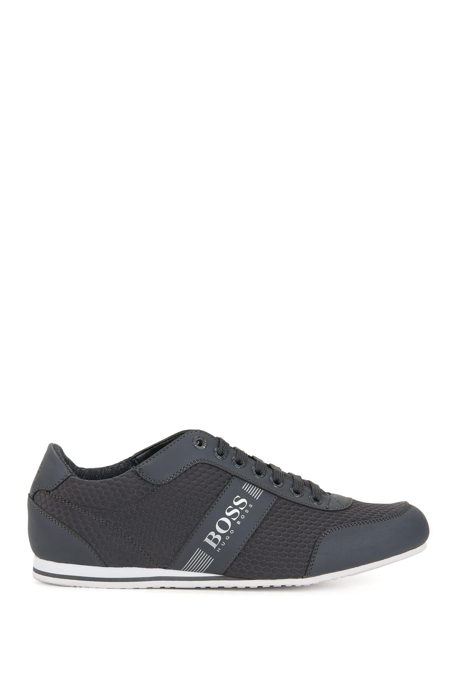 Sneakers low-top in neoprene goffrato