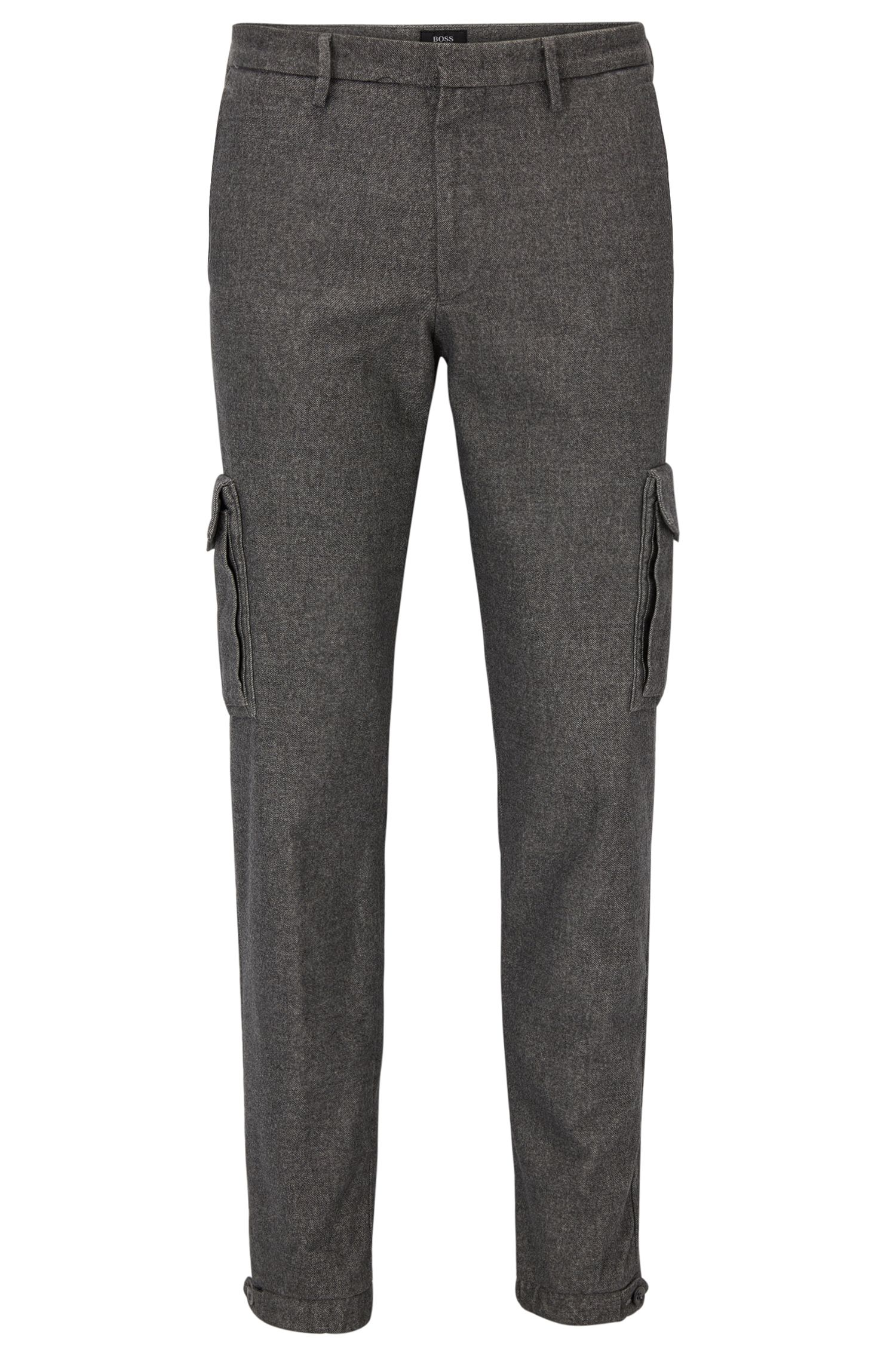 Tapered-fit chino van Italiaans stretchmateriaal