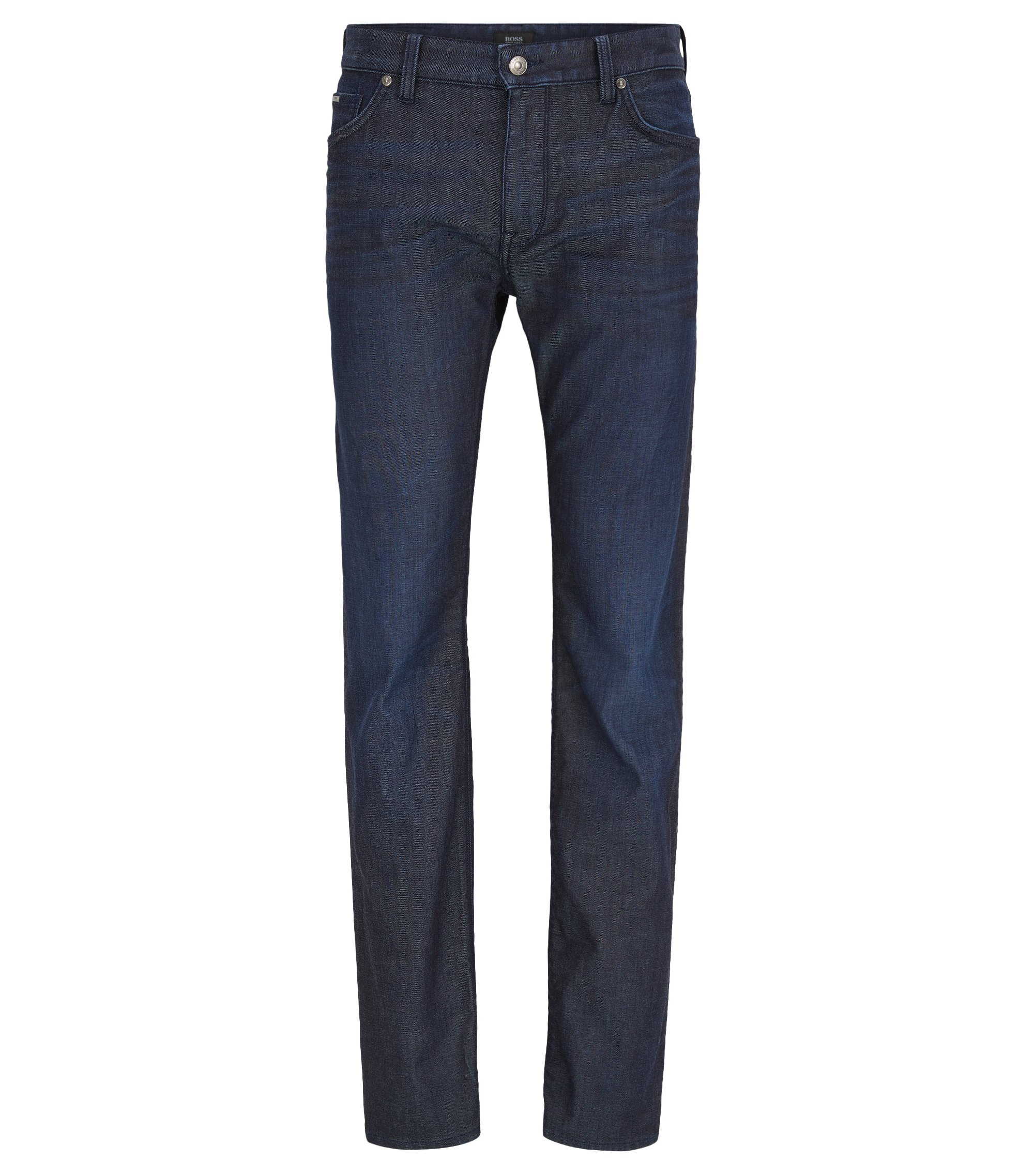 Regular-fit jeans in comfort-stretch denim, Blue