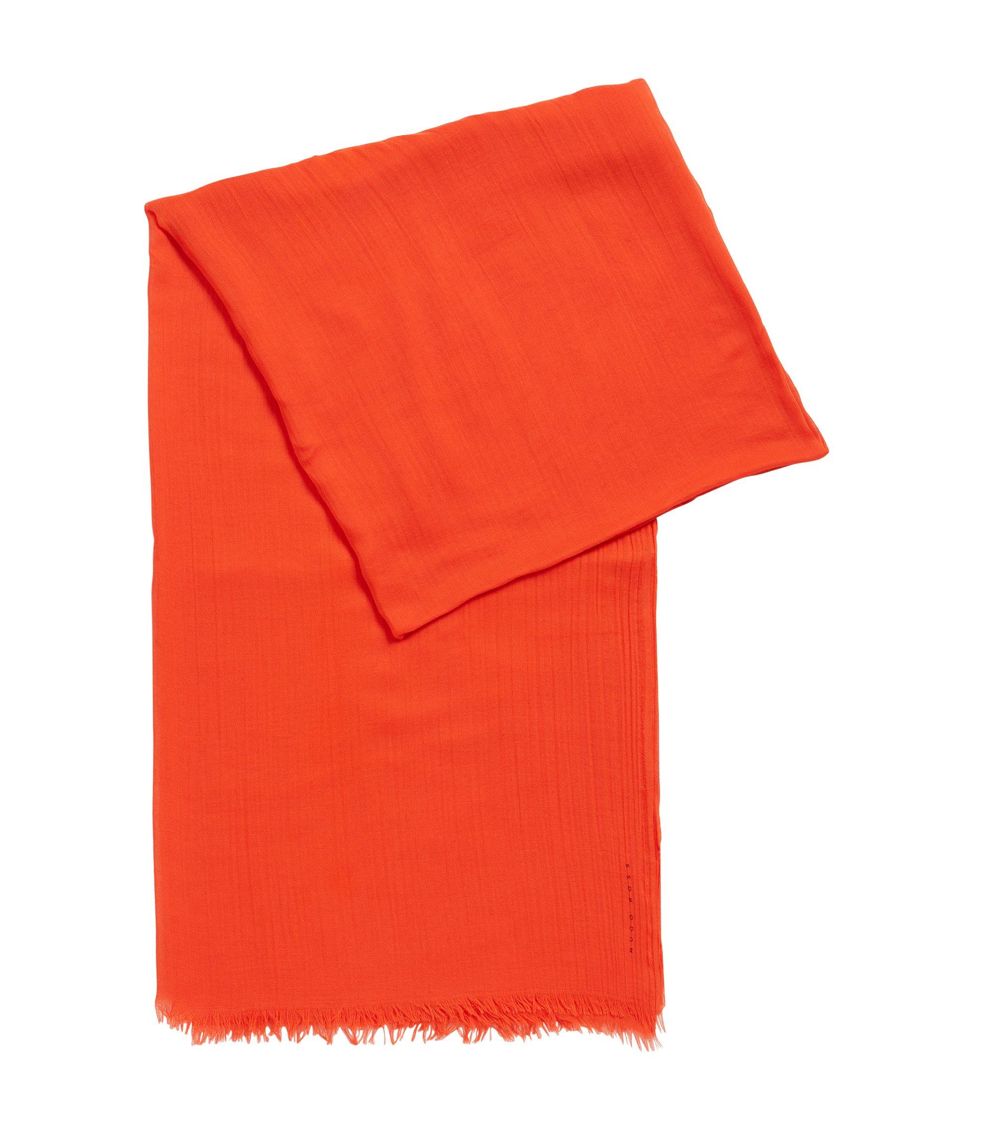 Leichter Schal aus unifarbenem Modal, Rot