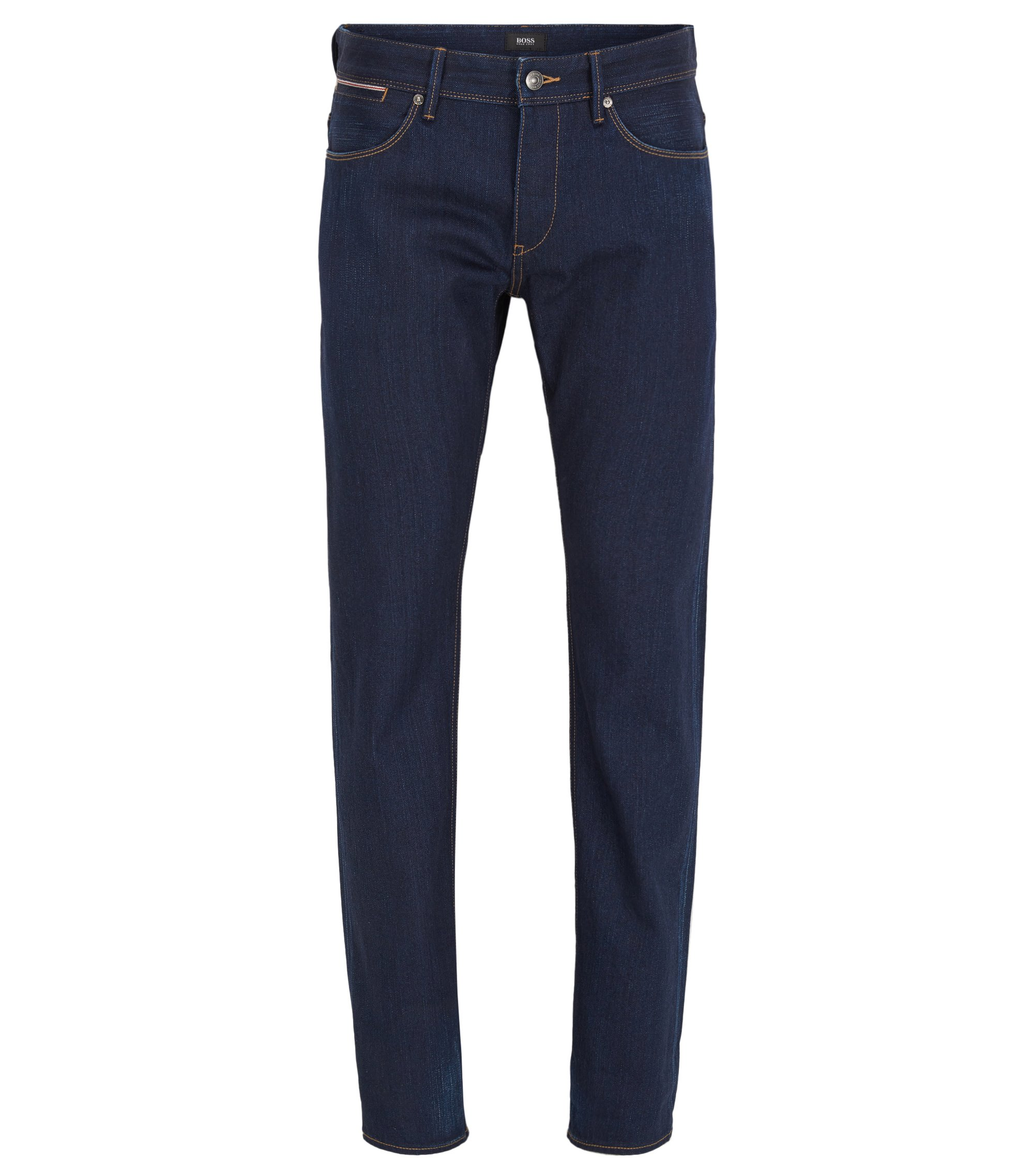 Slim-Fit Jeans aus Selvedge-Denim, Blau