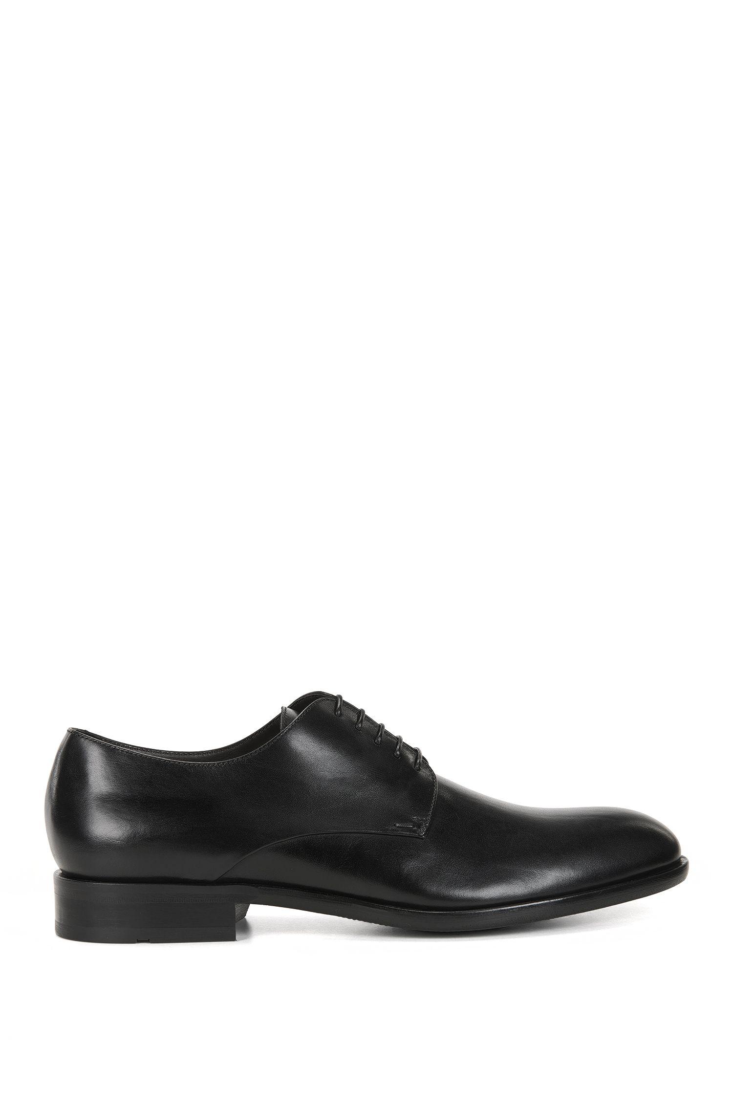 Zapatos Derby en piel pulida