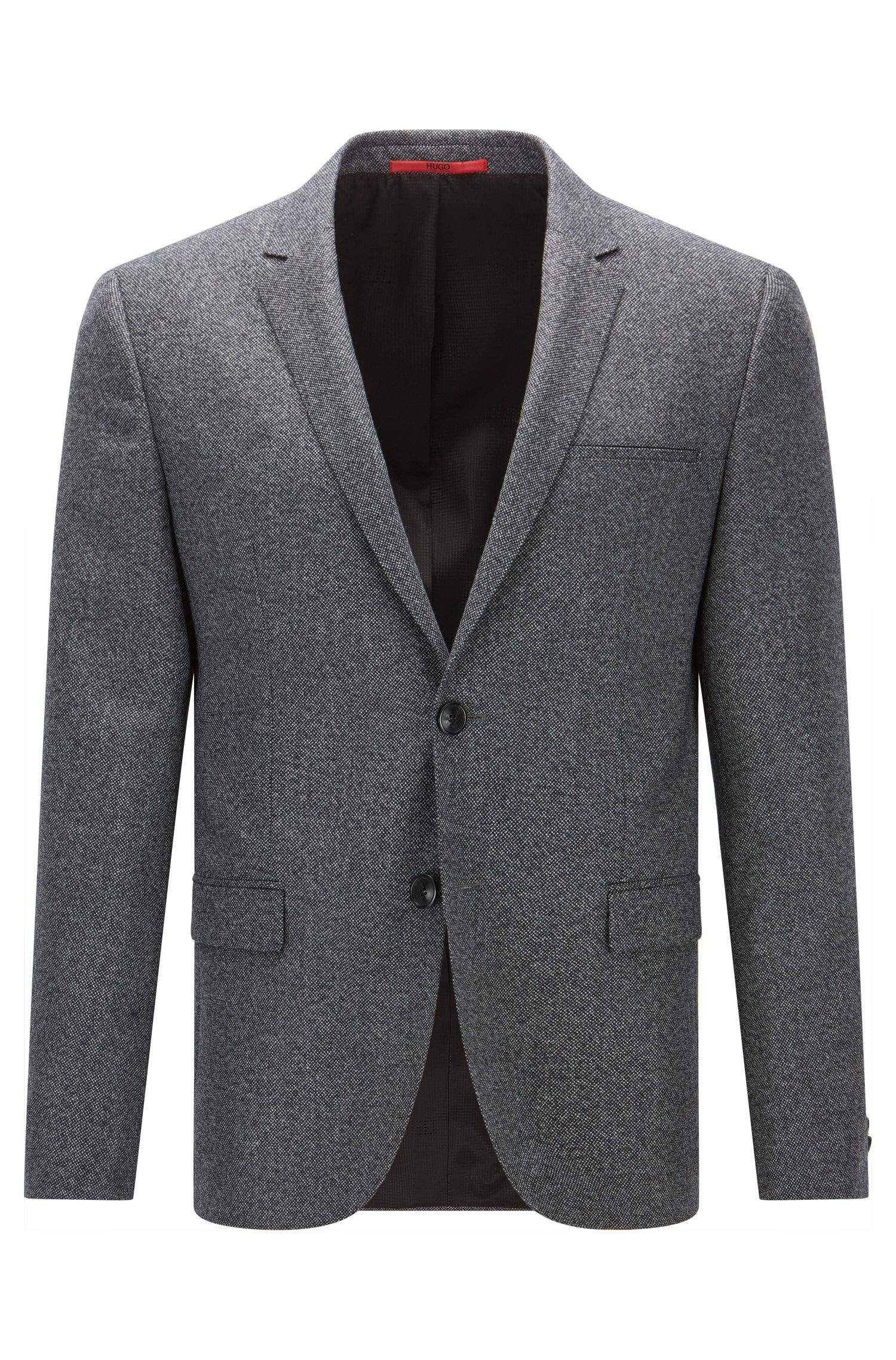 Extra-slim-fit jacket in virgin wool