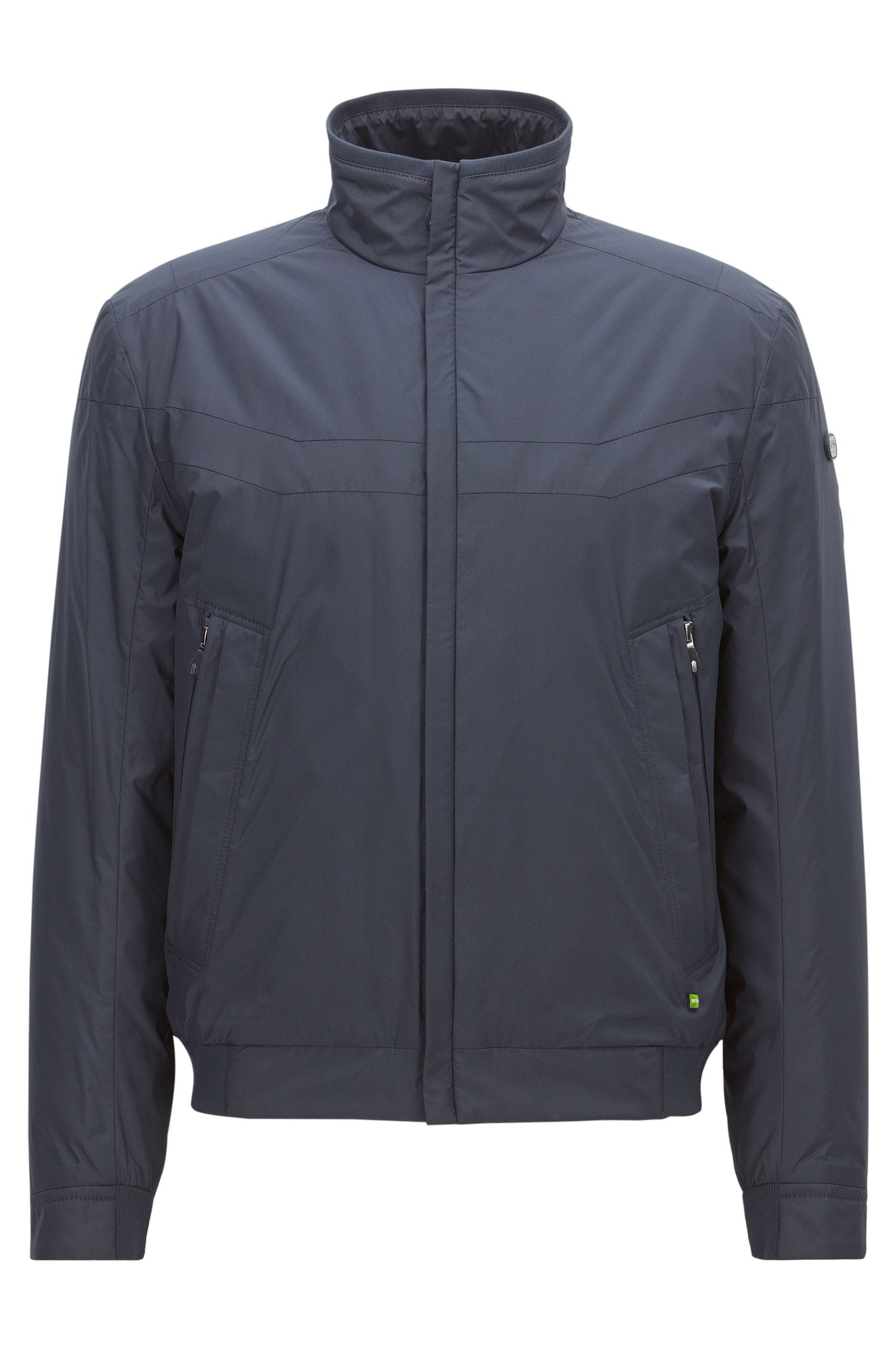 Regular-fit jacket in technical fabric