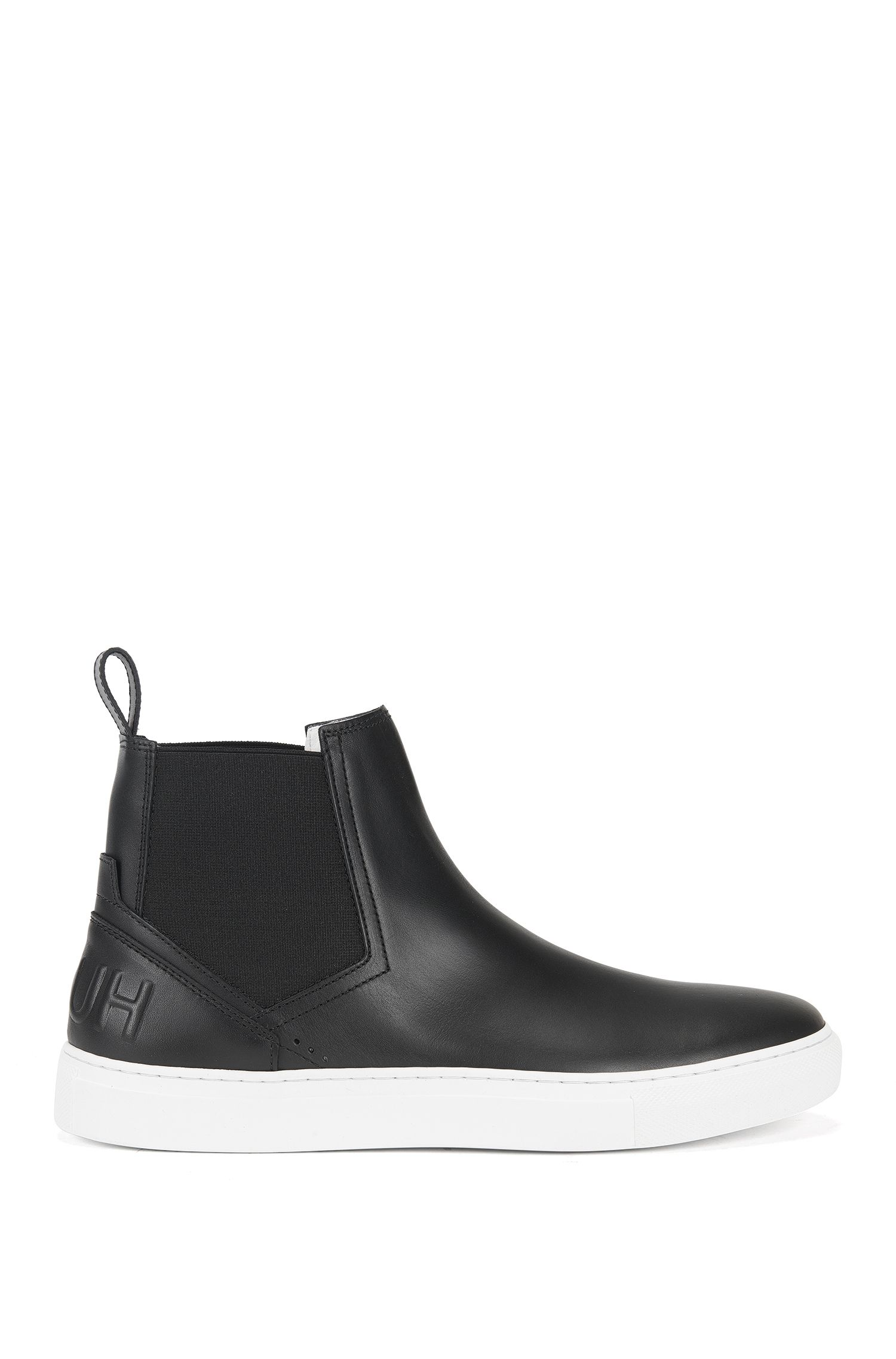 Chelsea-boot trainers in soft leather