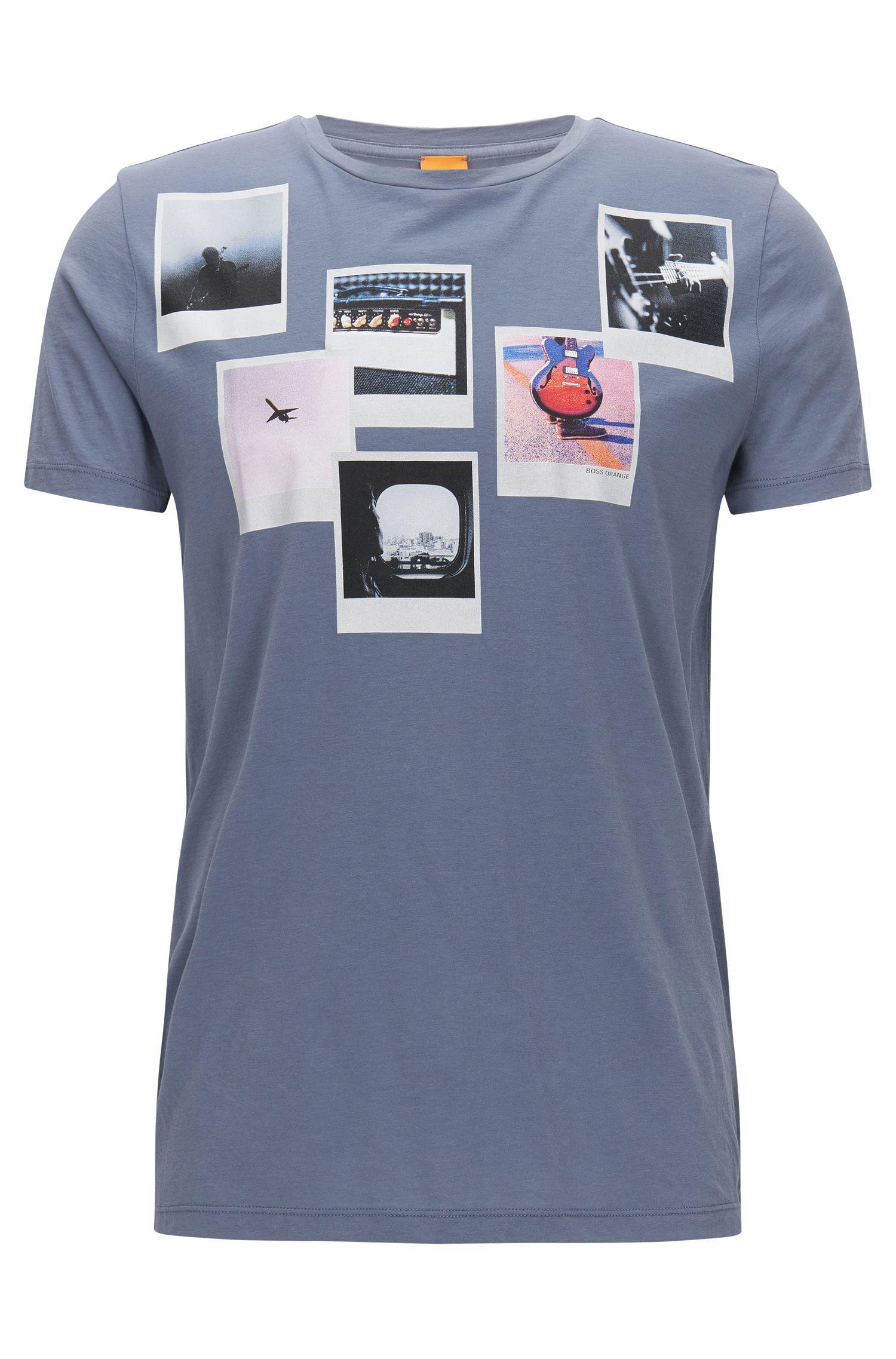 Regular-Fit T-Shirt aus Pima-Baumwolle