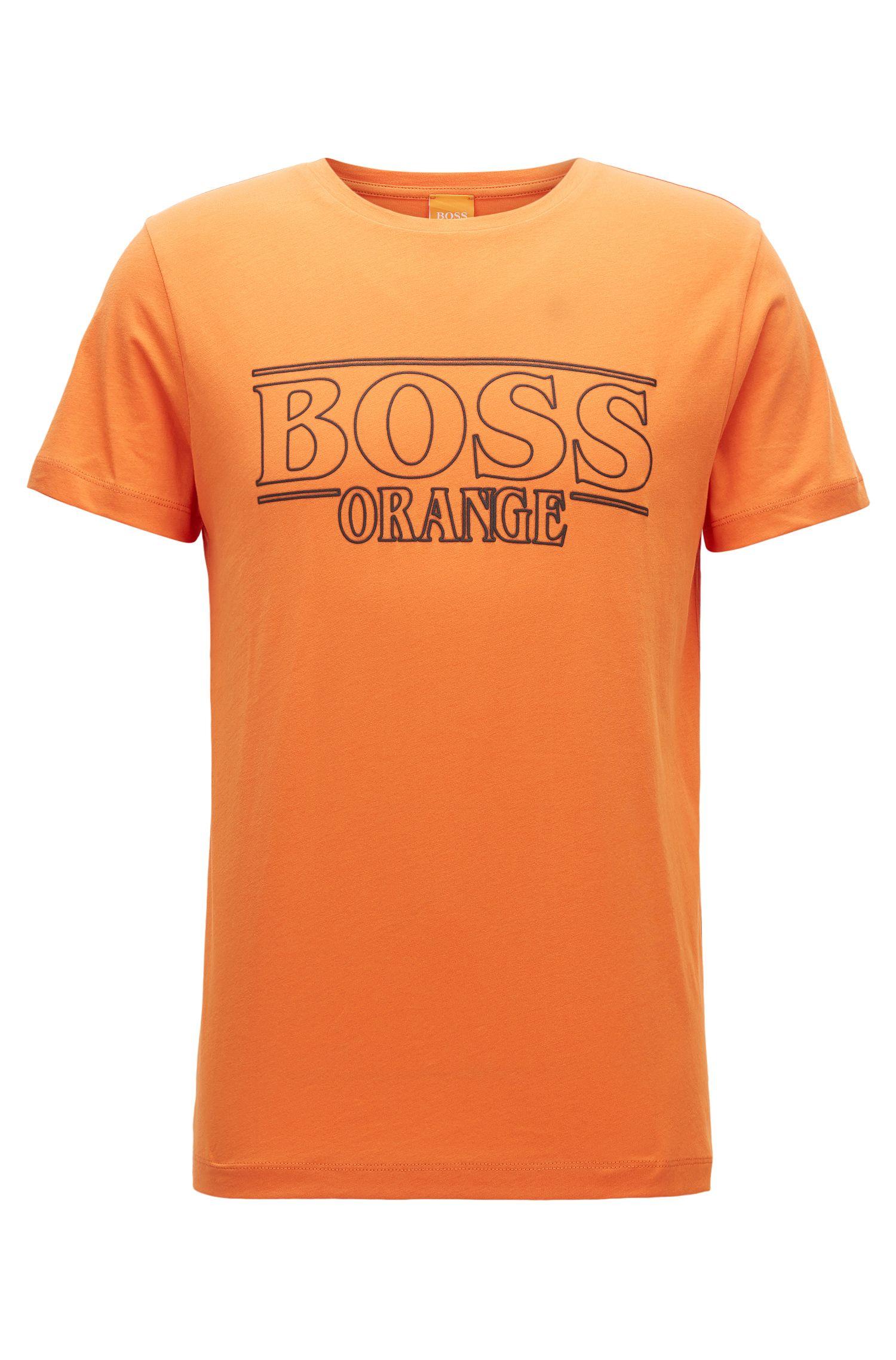 Regular-fit T-shirt in cotton