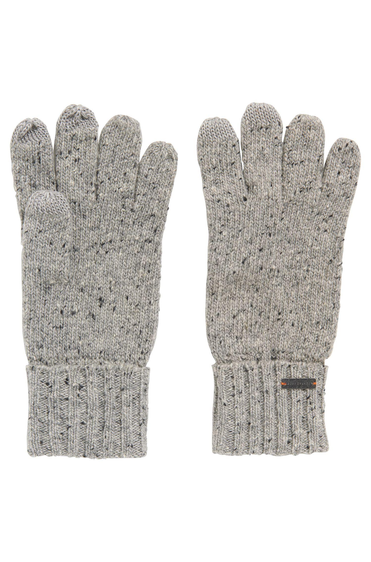 Touchscreen-Handschuhe aus Woll-Mix