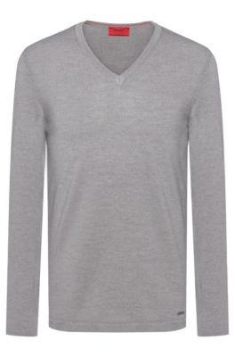 e0410f554df5c Men's Designer Knitwear | HUGO BOSS