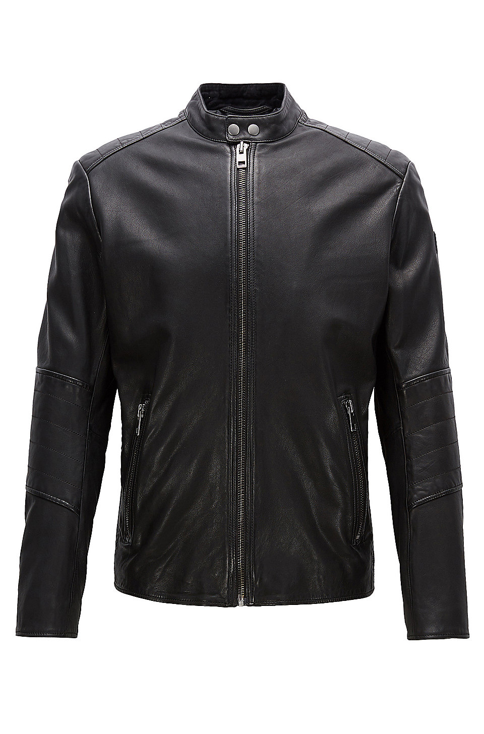 Leather jackets for men by HUGO BOSS | Premium materials & cuts